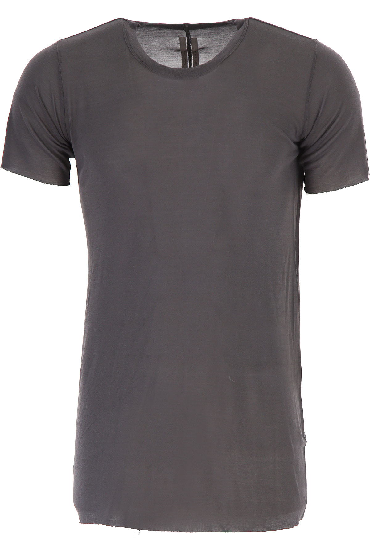 Rick Owens T-Shirt for Men On Sale in Outlet, Grey, viscosa, 2019, S XL
