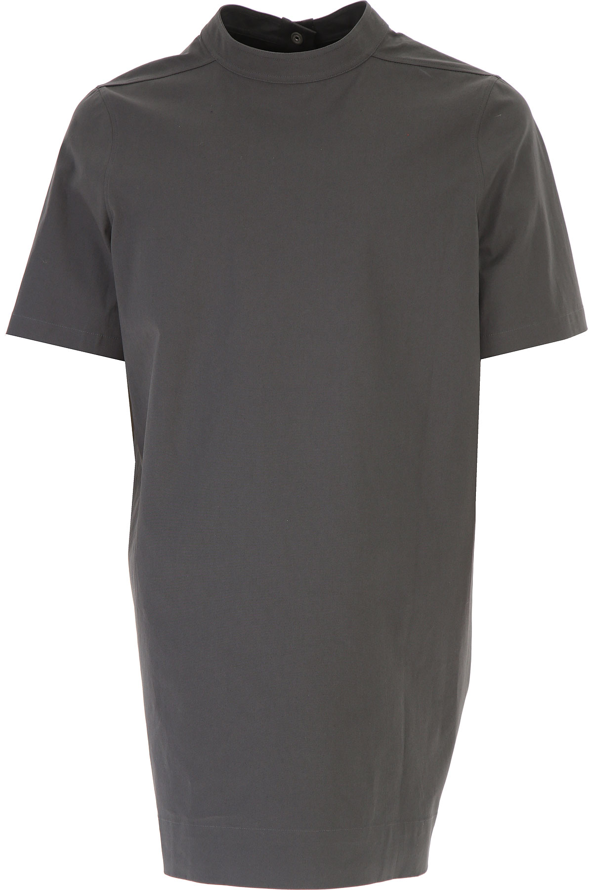 Rick Owens T-Shirt for Men On Sale in Outlet, Iron, Cotton, 2019, L M S