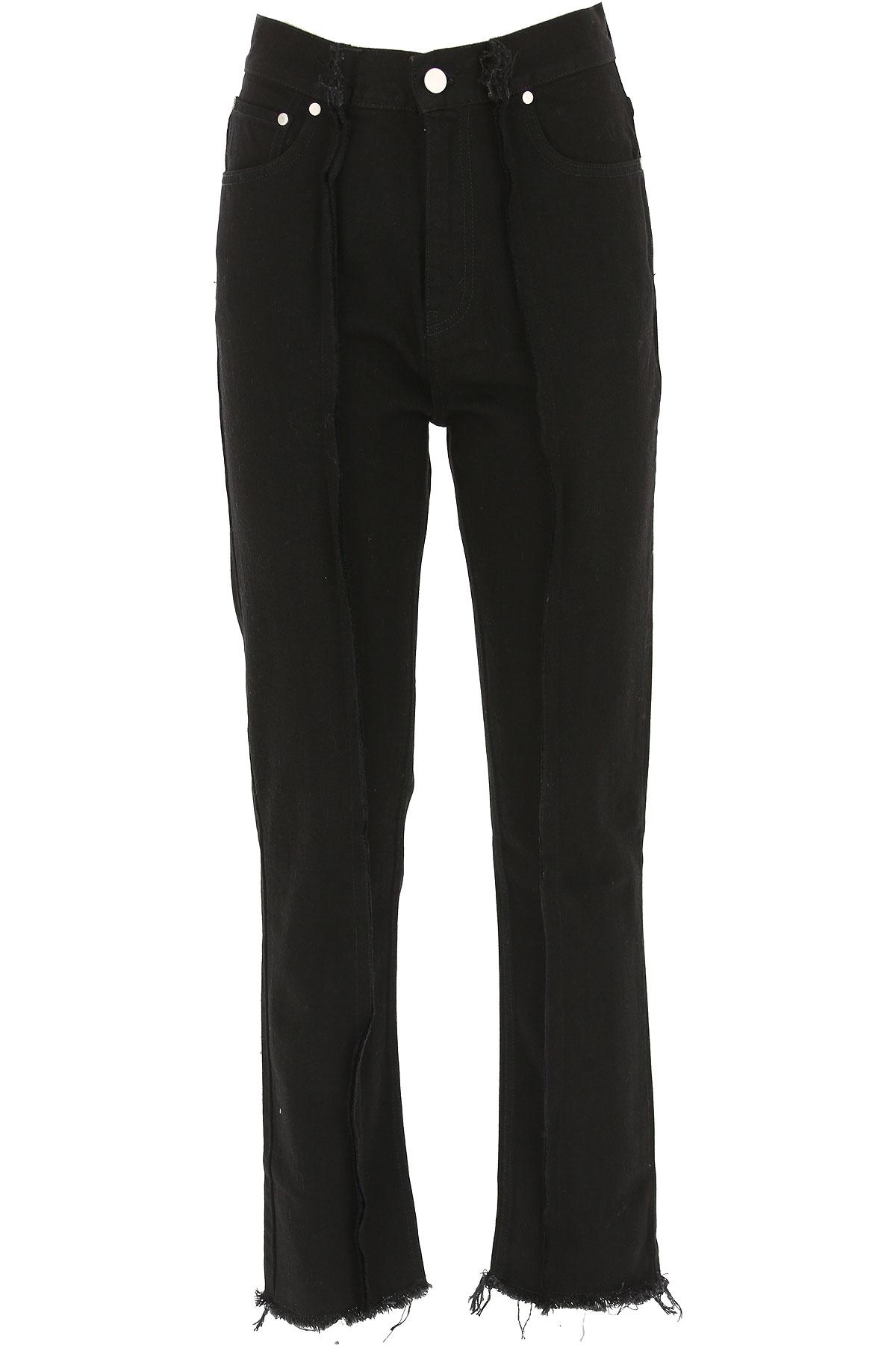 Image of Rokh Jeans, Black, Cotton, 2017, 2 4