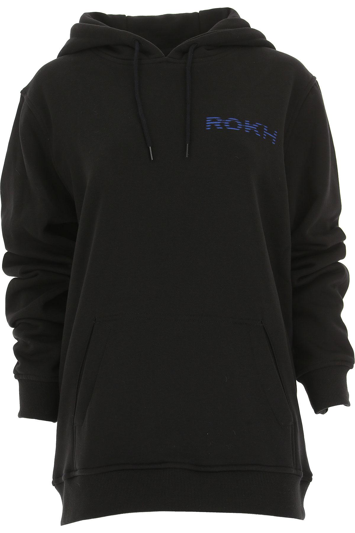 Image of Rokh Sweatshirt for Women, Black, Cotton, 2017, 2 4 6