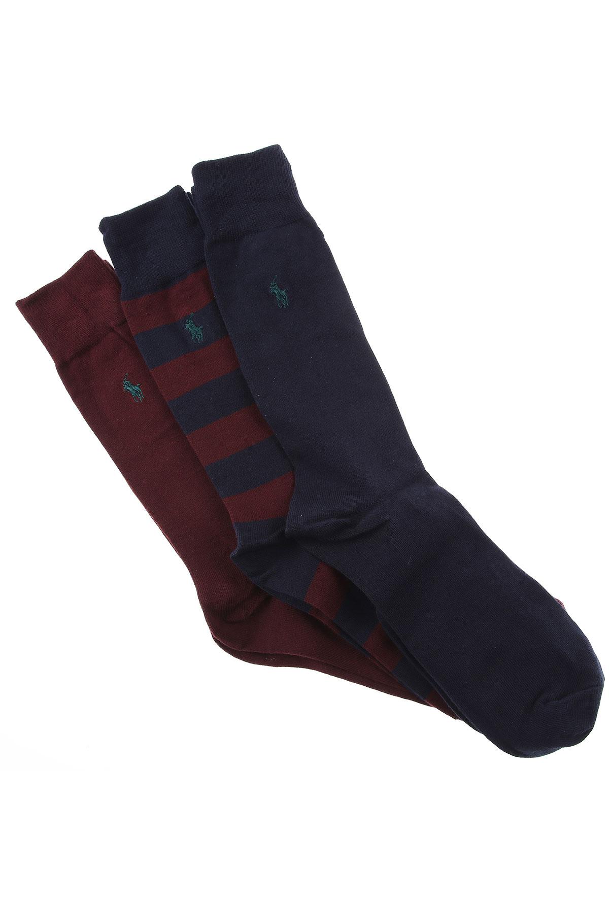 Ralph Lauren Socks Socks for Men On Sale, Ink Blue, Cotton, 2019