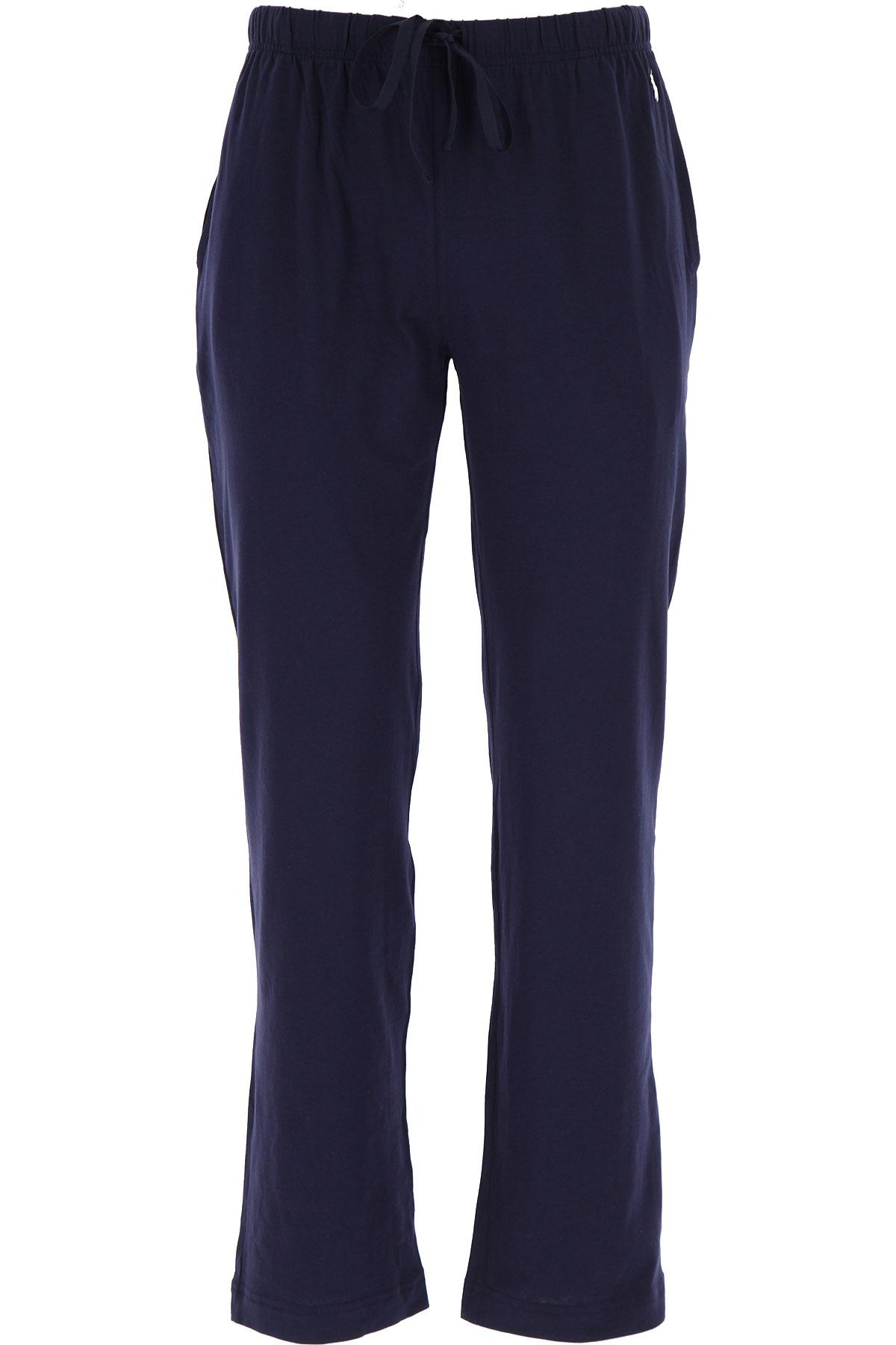 Ralph Lauren Loungewear for Men On Sale, Blue Navy, Cotton, 2019, S (EU 46) XL (EU 52)