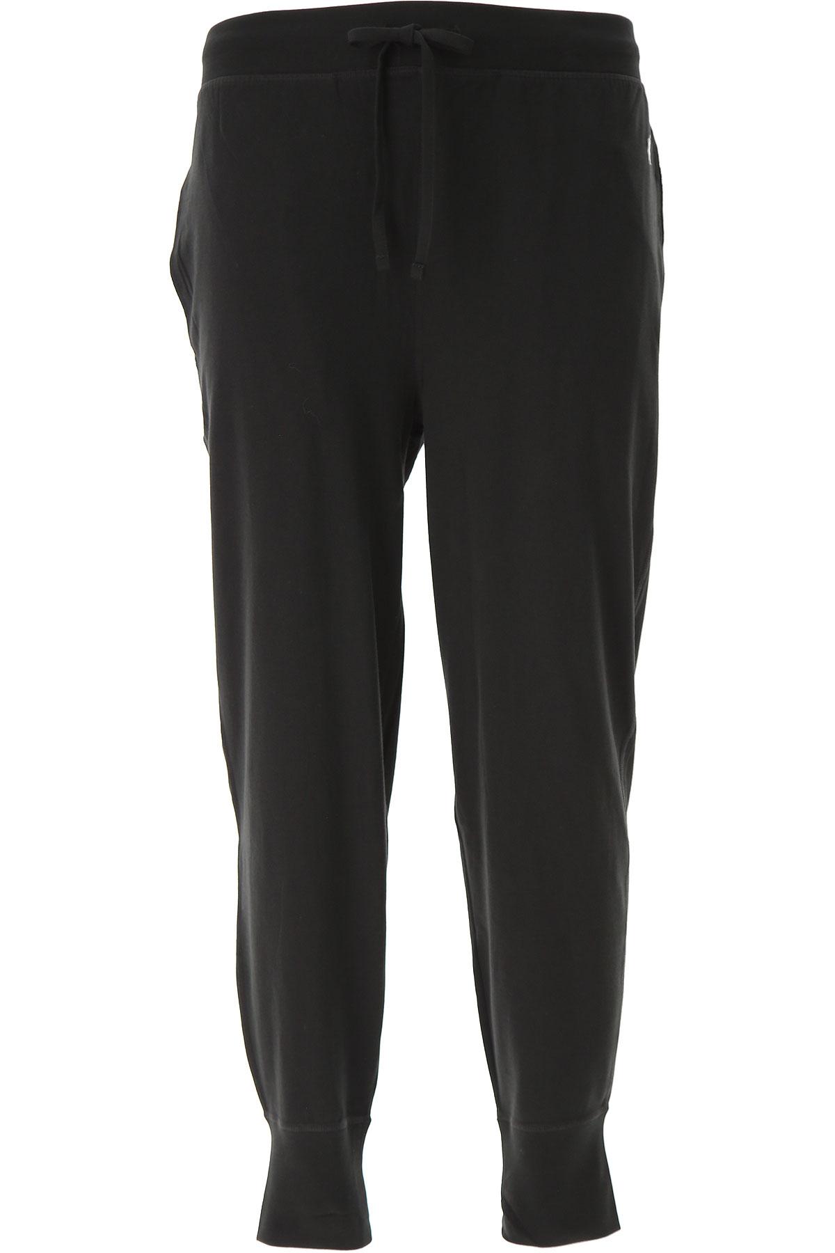 Ralph Lauren Loungewear for Men, Black, Cotton, 2019, L (EU 50) XL (EU 52) M (IT 4) L (IT 5) XL (IT 6)
