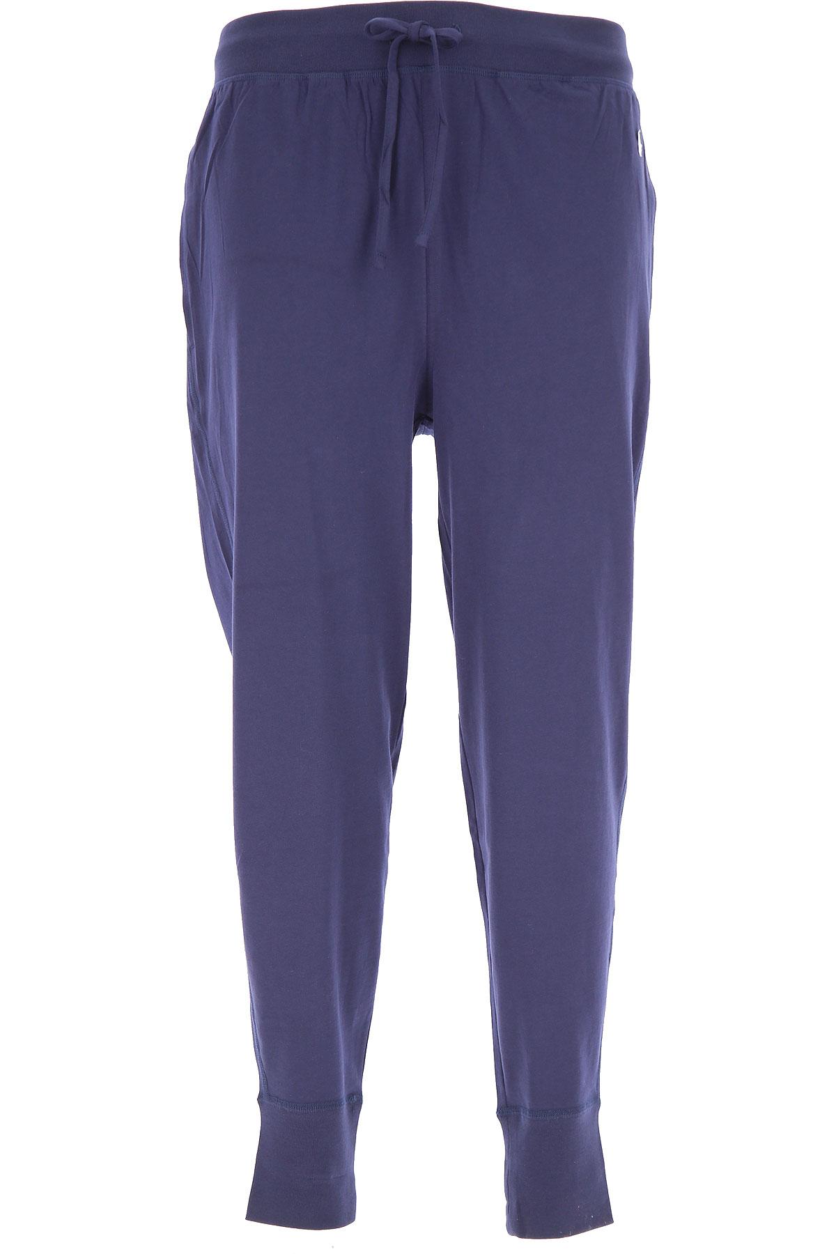 Ralph Lauren Loungewear for Men On Sale in Outlet, Blu Navy, Cotton, 2019, L (IT 5) XL (IT 6)