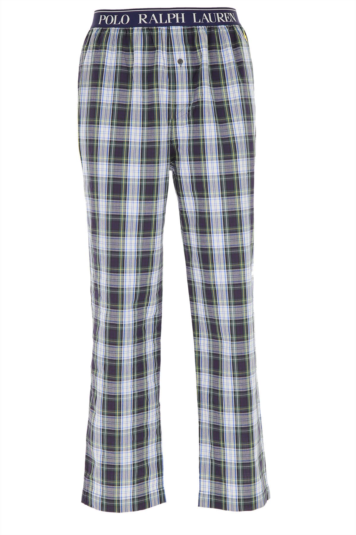 Ralph Lauren Loungewear for Men, Dark Blue, Cotton, 2019, S (IT 3) L (IT 5) XL (IT 6)