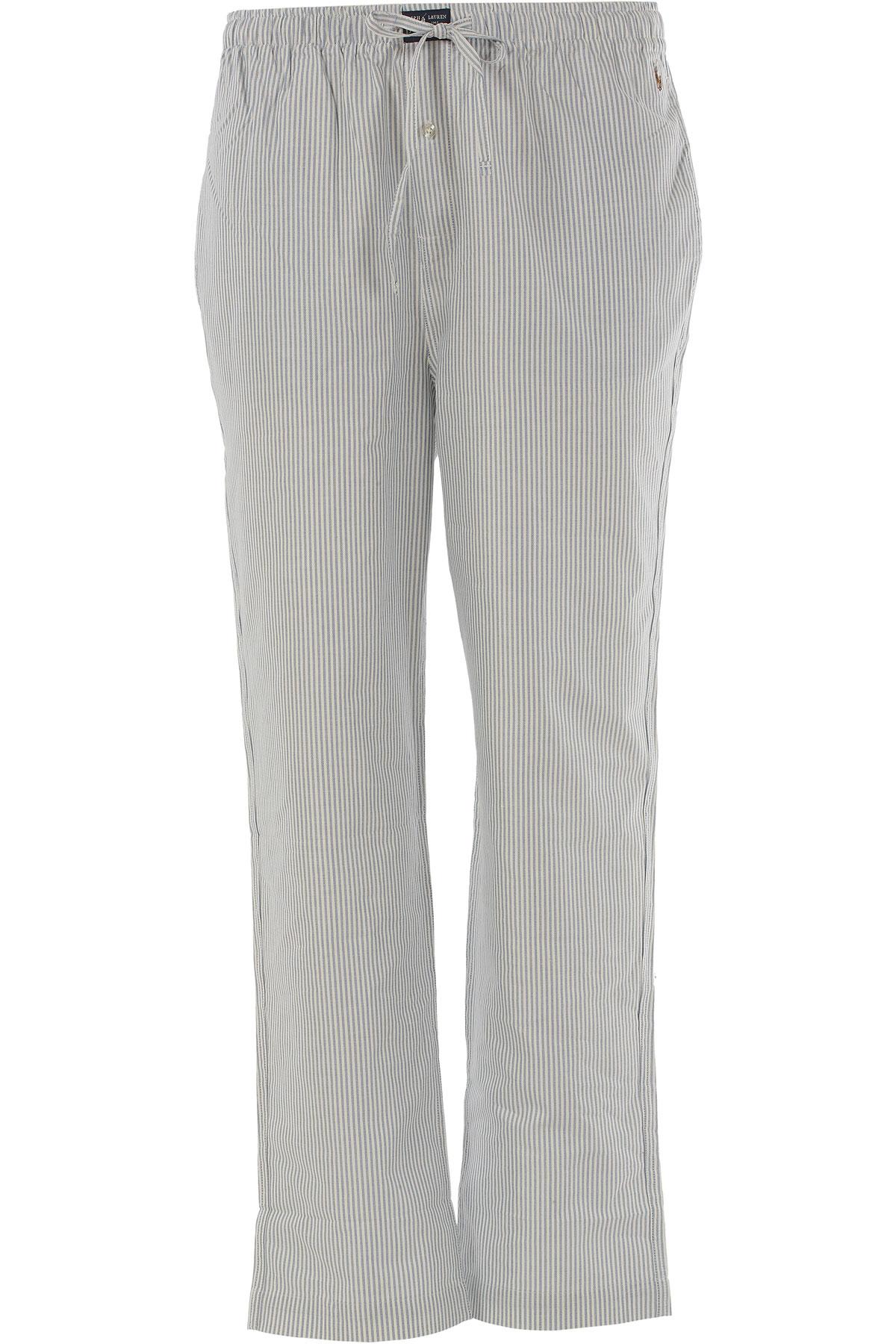 Ralph Lauren Pajama for Men On Sale in Outlet, Light Blue, Cotton, 2017, S (EU 3) L (EU 5) XL (EU 6) USA-383446