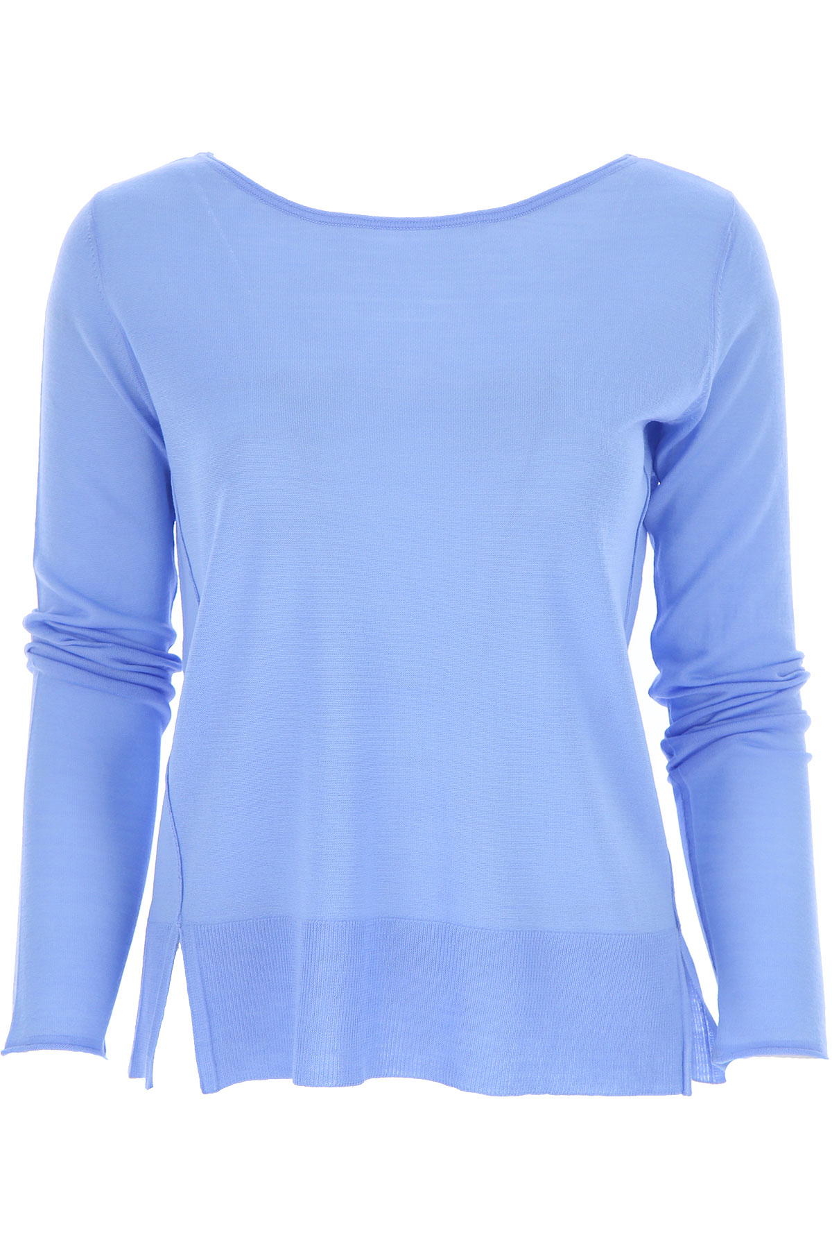 Roberto Collina Sweater for Women Jumper On Sale, pervinca, Merinos Wool, 2019, 4 8 XS