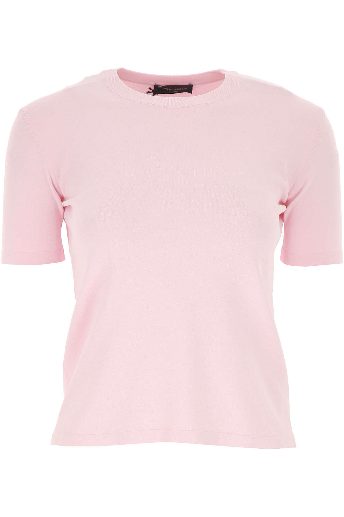 Roberto Collina Top for Women On Sale, Pink, viscosa, 2019, 4 6