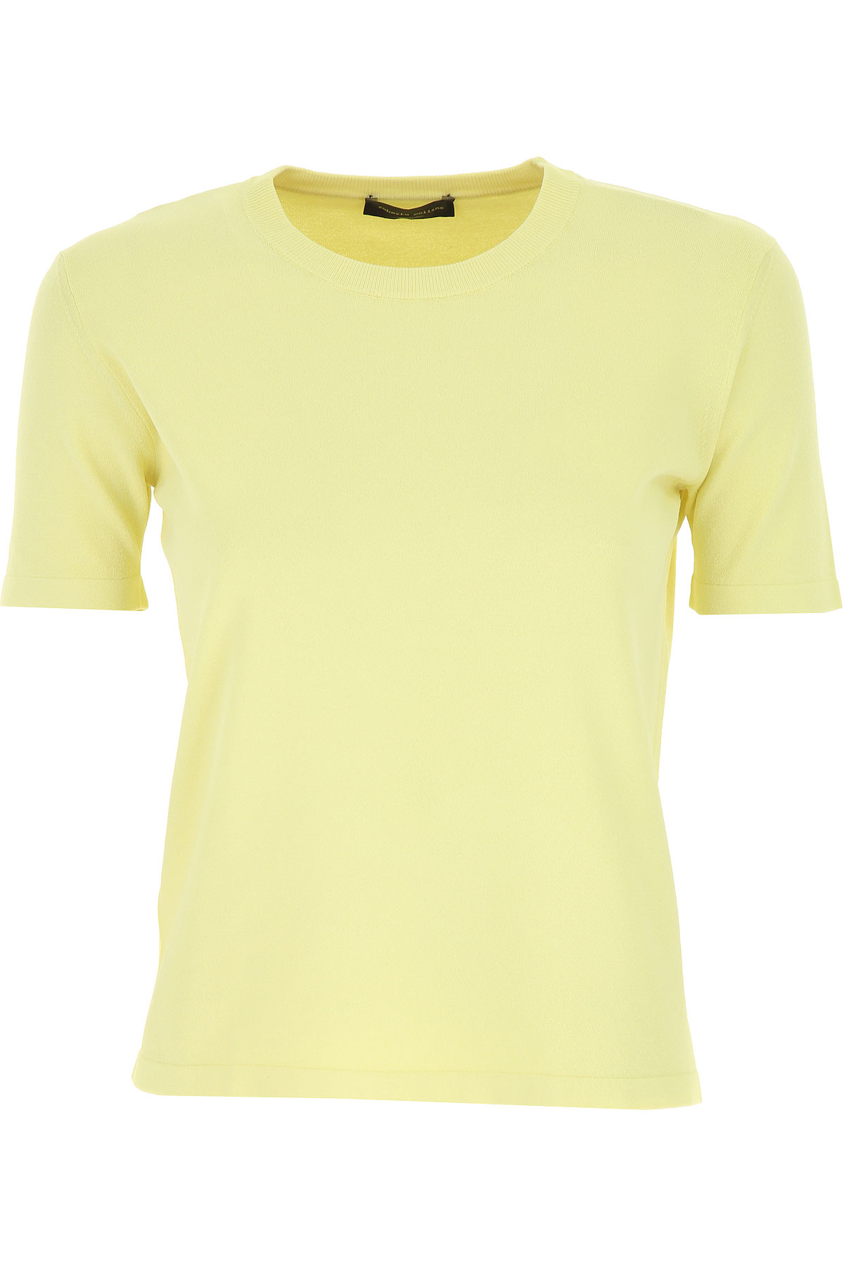 Roberto Collina Sweater for Women Jumper On Sale, Canary Yellow, viscosa, 2019, 4 8