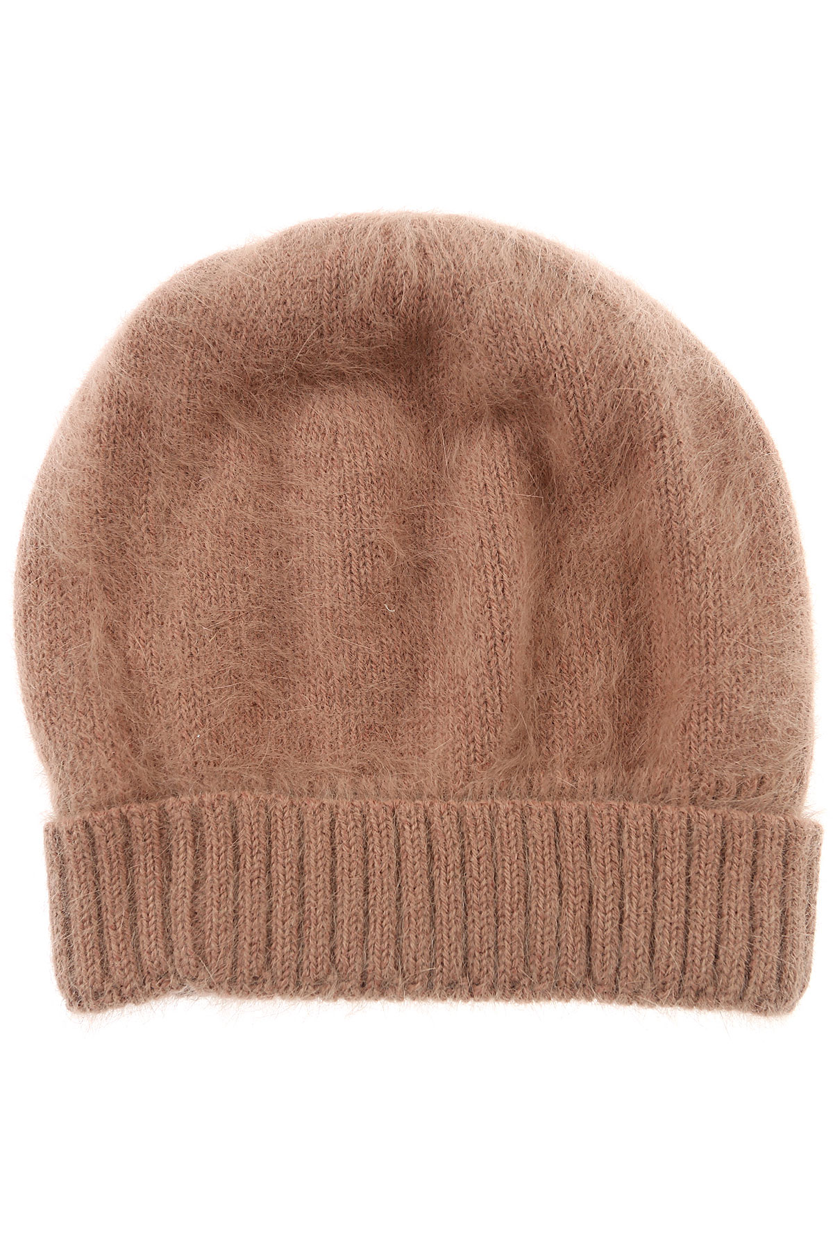 Image of Roberto Collina Hat for Women, Camel, Angora, 2017