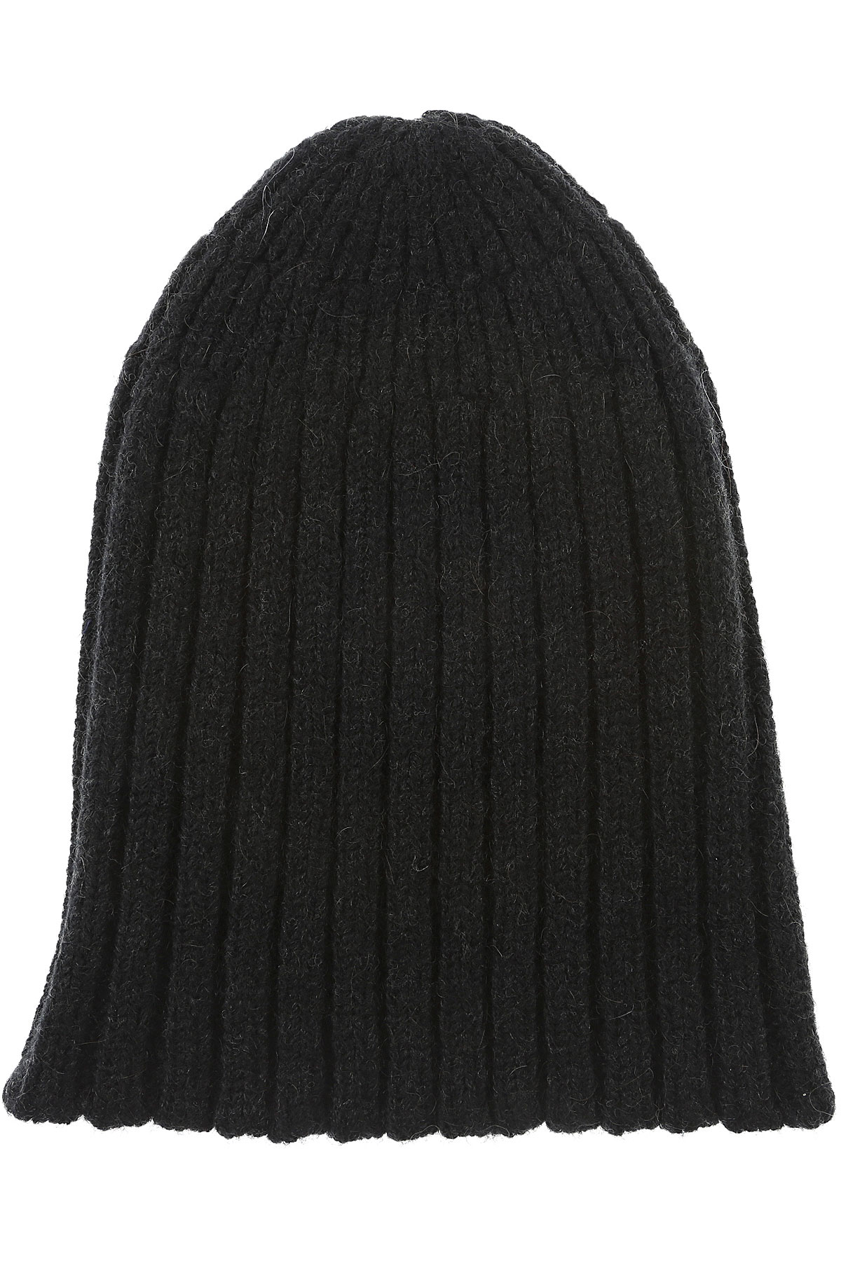 Image of Roberto Collina Hat for Women, Black, Extrafine Merino Wool, 2017