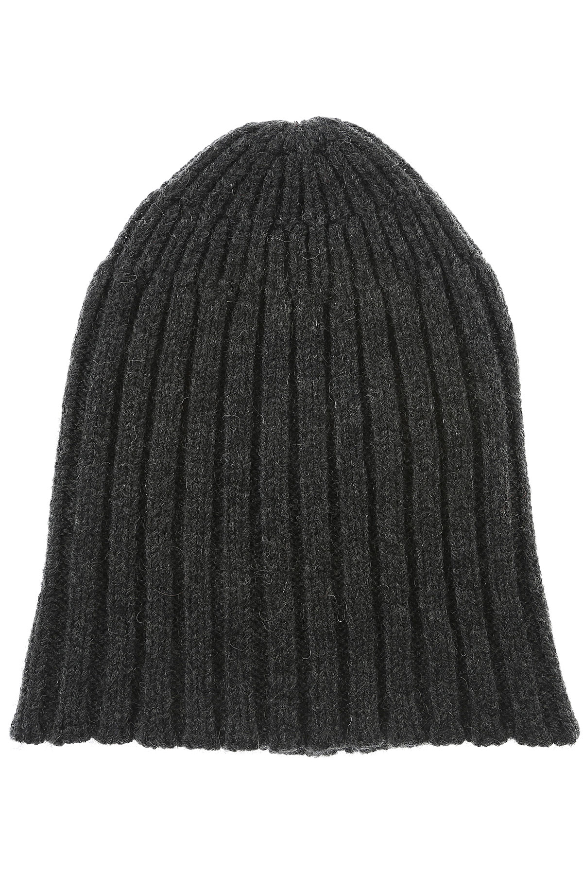 Image of Roberto Collina Hat for Women, antracite, Extrafine Merino Wool, 2017