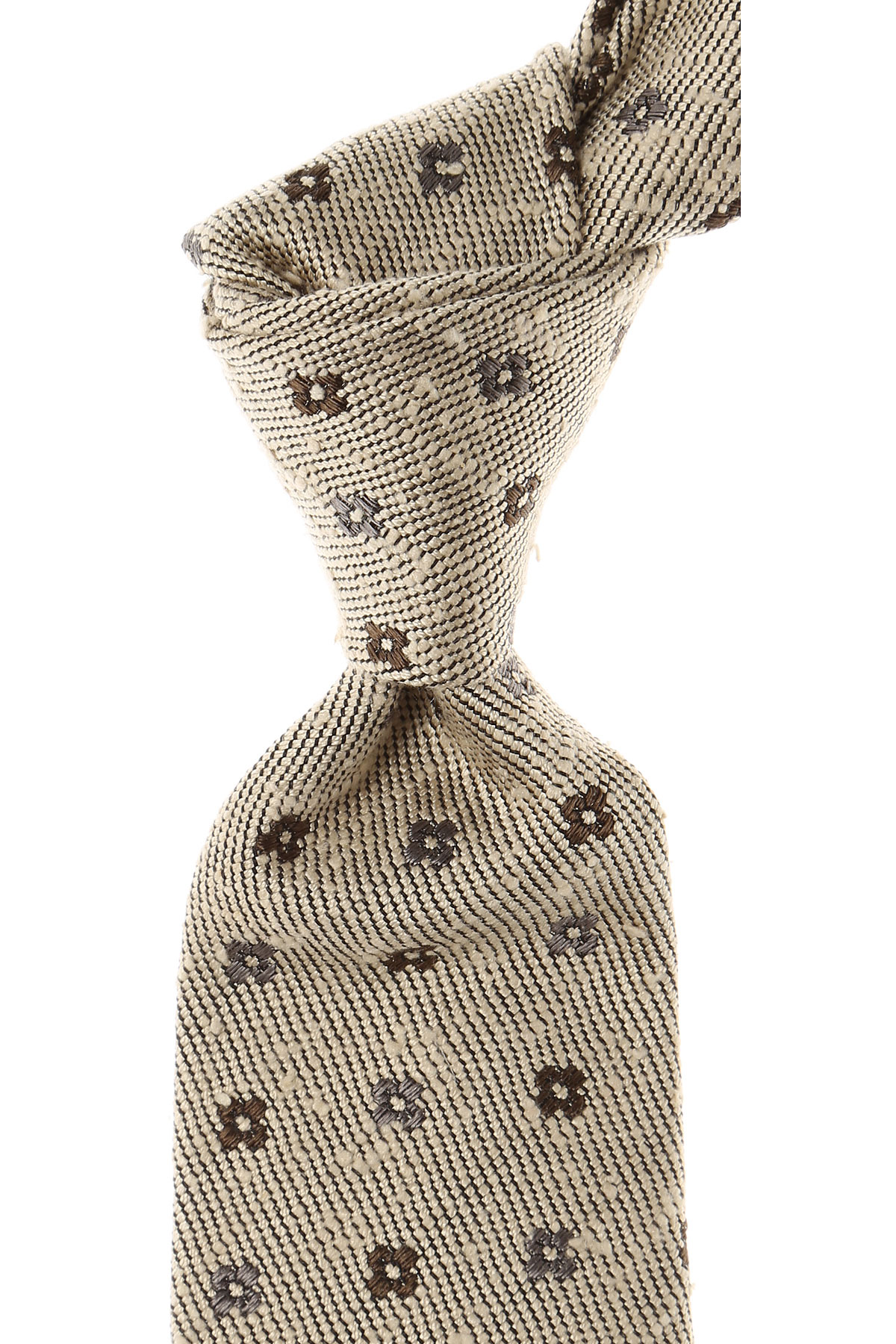 Roda Ties On Sale, beige melange, Silk, 2019