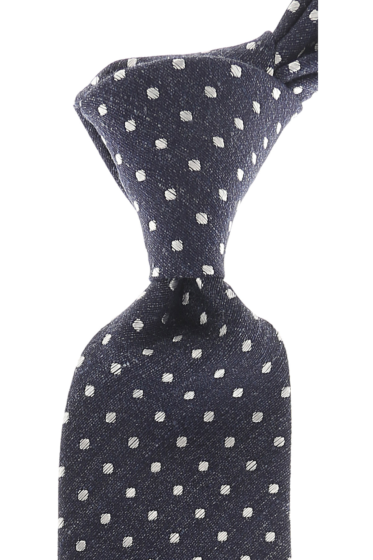 Roda Ties On Sale, Dark Navy Blue Melange, Silk, 2019