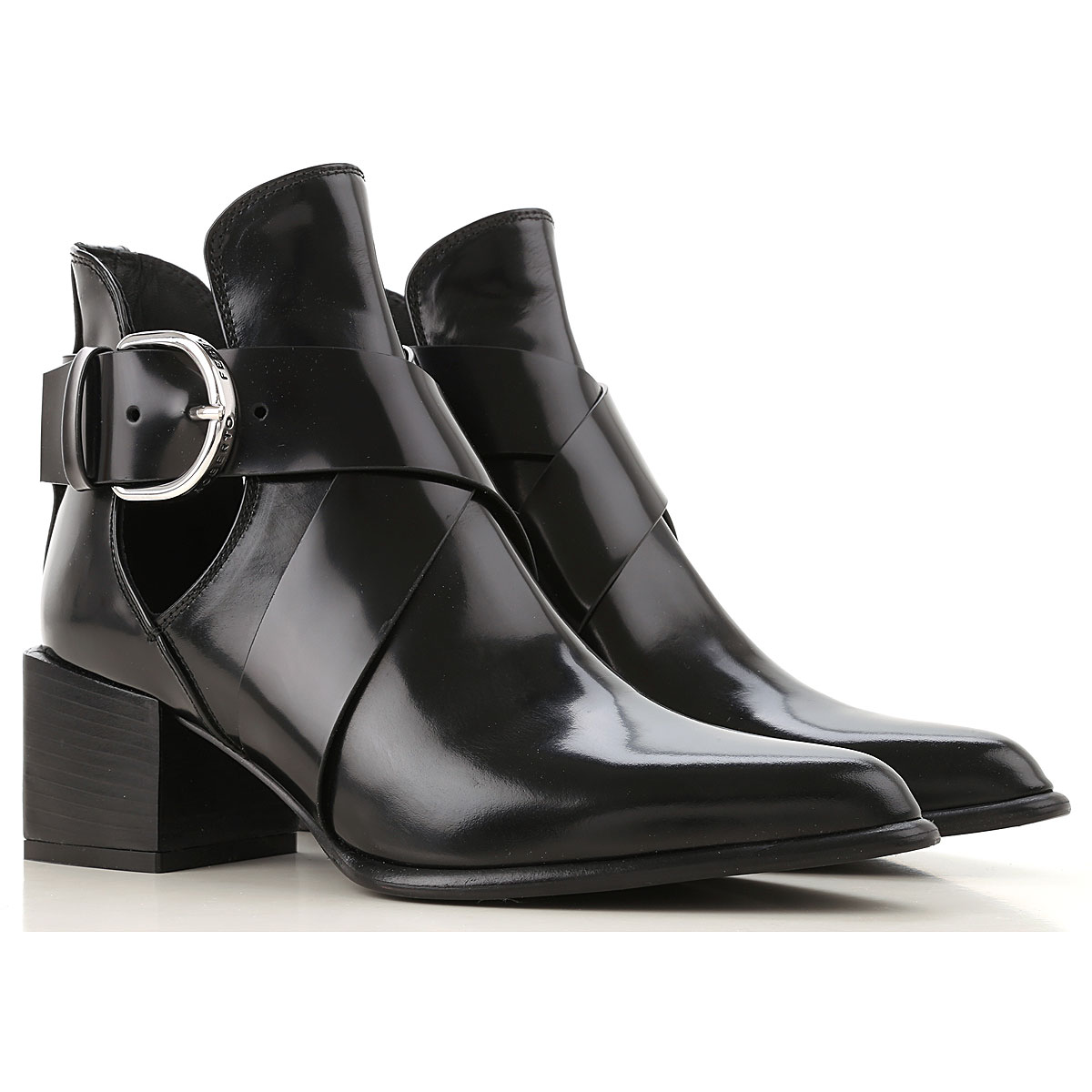 Roberto Festa Boots for Women, Booties On Sale, Black, Patent Leather, 2019, 10 6 7 8 9.5
