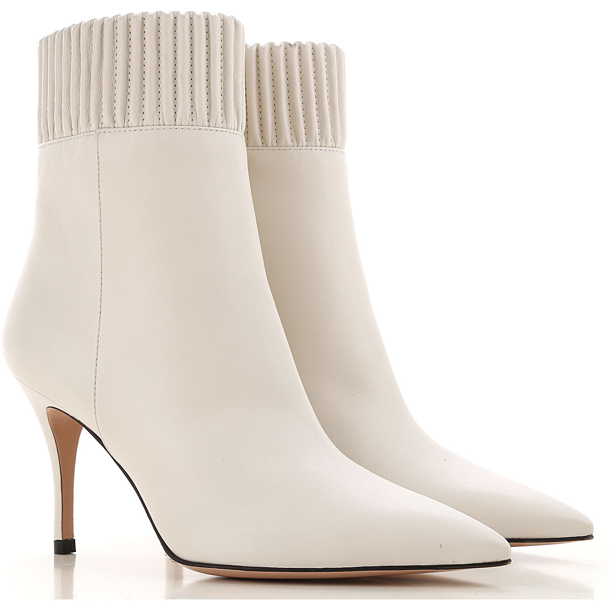 Roberto Festa Boots for Women, Booties On Sale, Chalk, Leather, 2019, 6 7 9