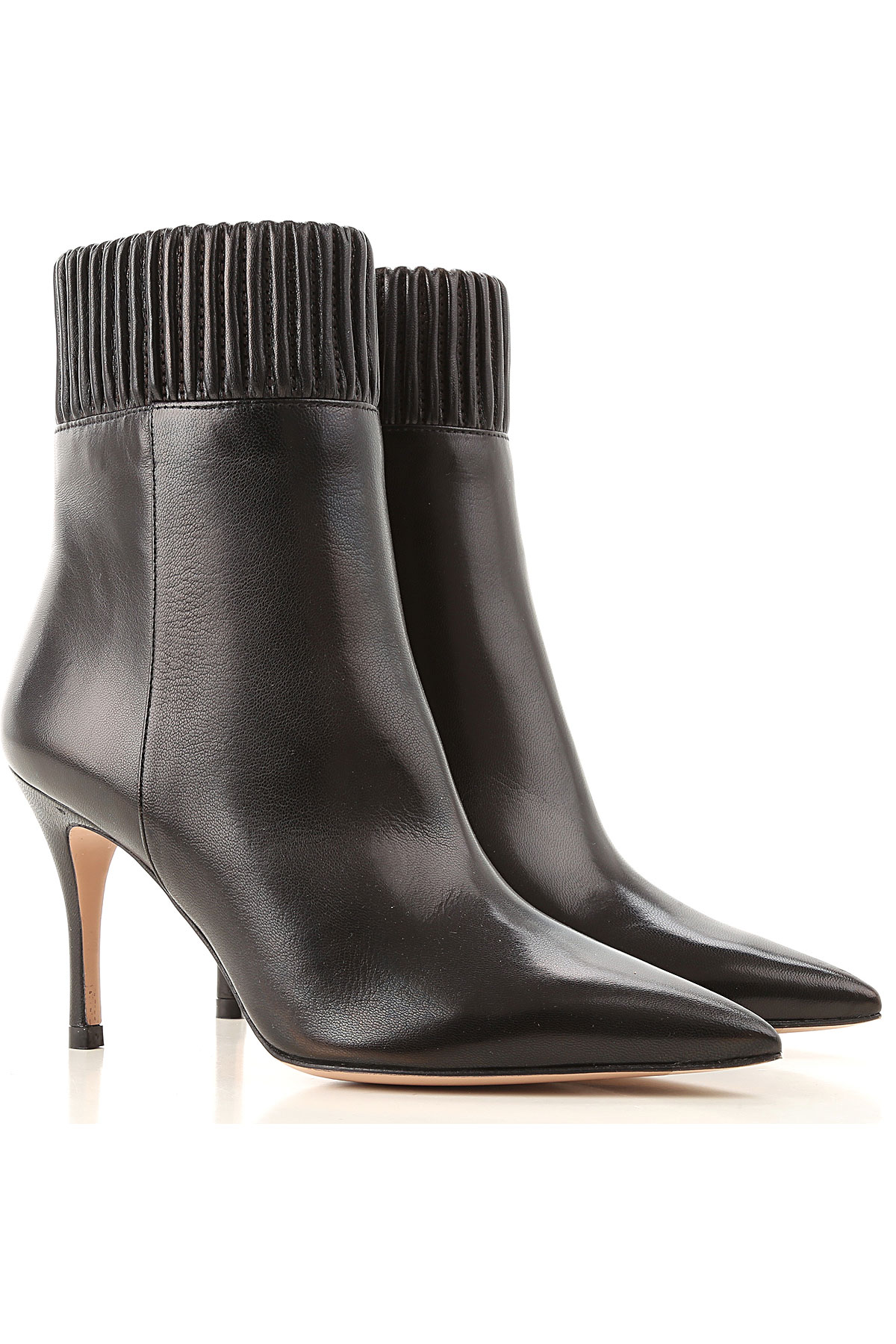 Roberto Festa Boots for Women, Booties On Sale, Black, Leather, 2019, 10 6 8 9