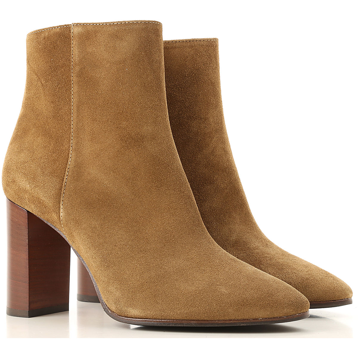 Roberto Festa Boots for Women, Booties On Sale, Moustard, Suede leather, 2019, 6 7 8 9