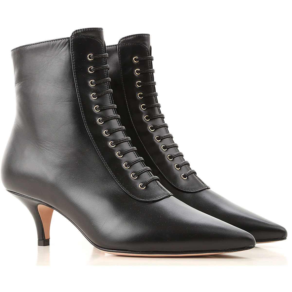 Roberto Festa Boots for Women, Booties On Sale, Black, Leather, 2019, 6 7 8 9