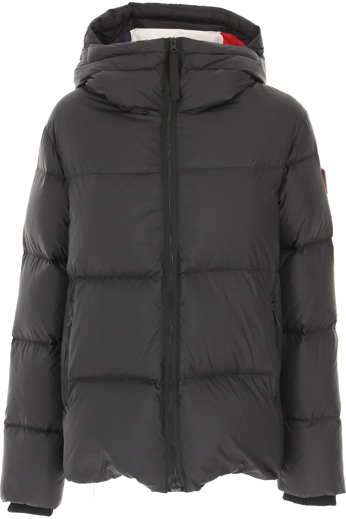 Rossignol Down Jacket for Women, Puffer Ski Jacket On Sale, Black, polyamide, 2019, 4 6 8