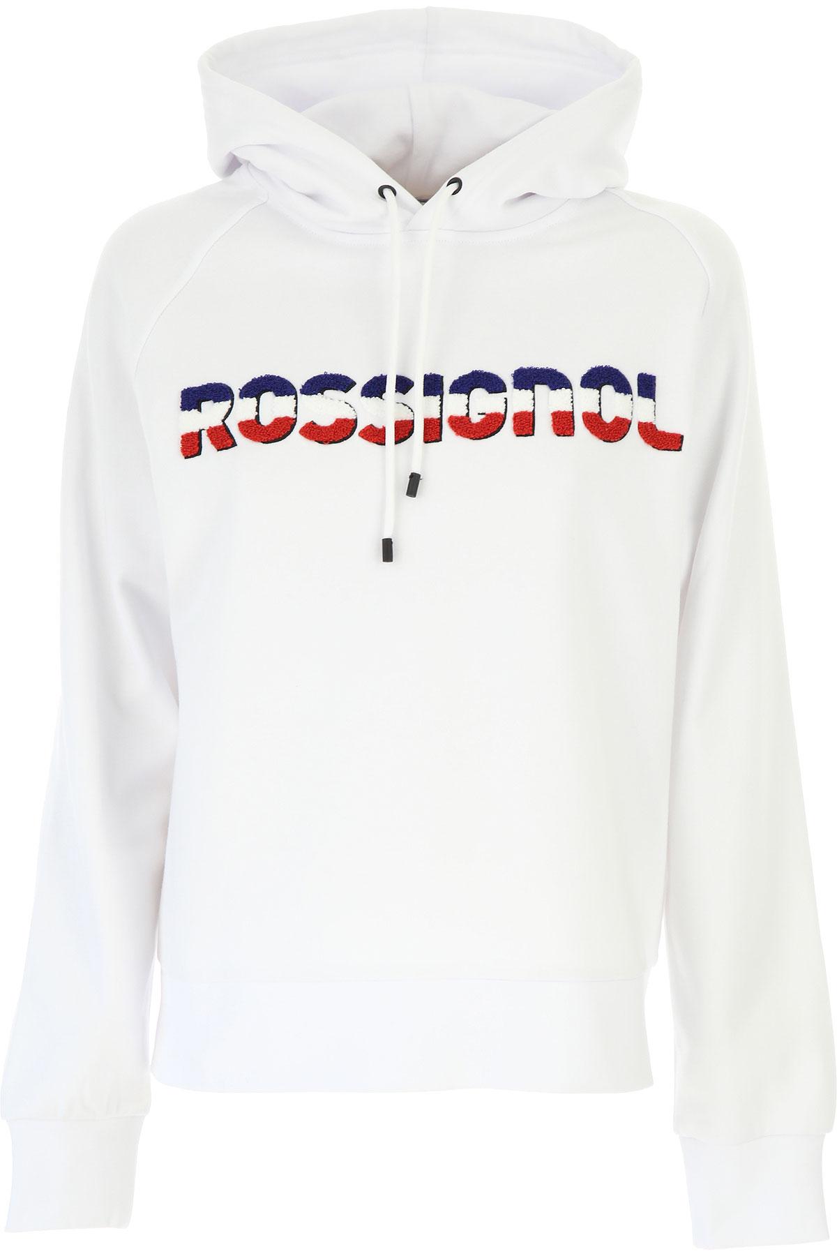 Rossignol Sweatshirt for Women On Sale, White, Cotton, 2019, 4 6 8