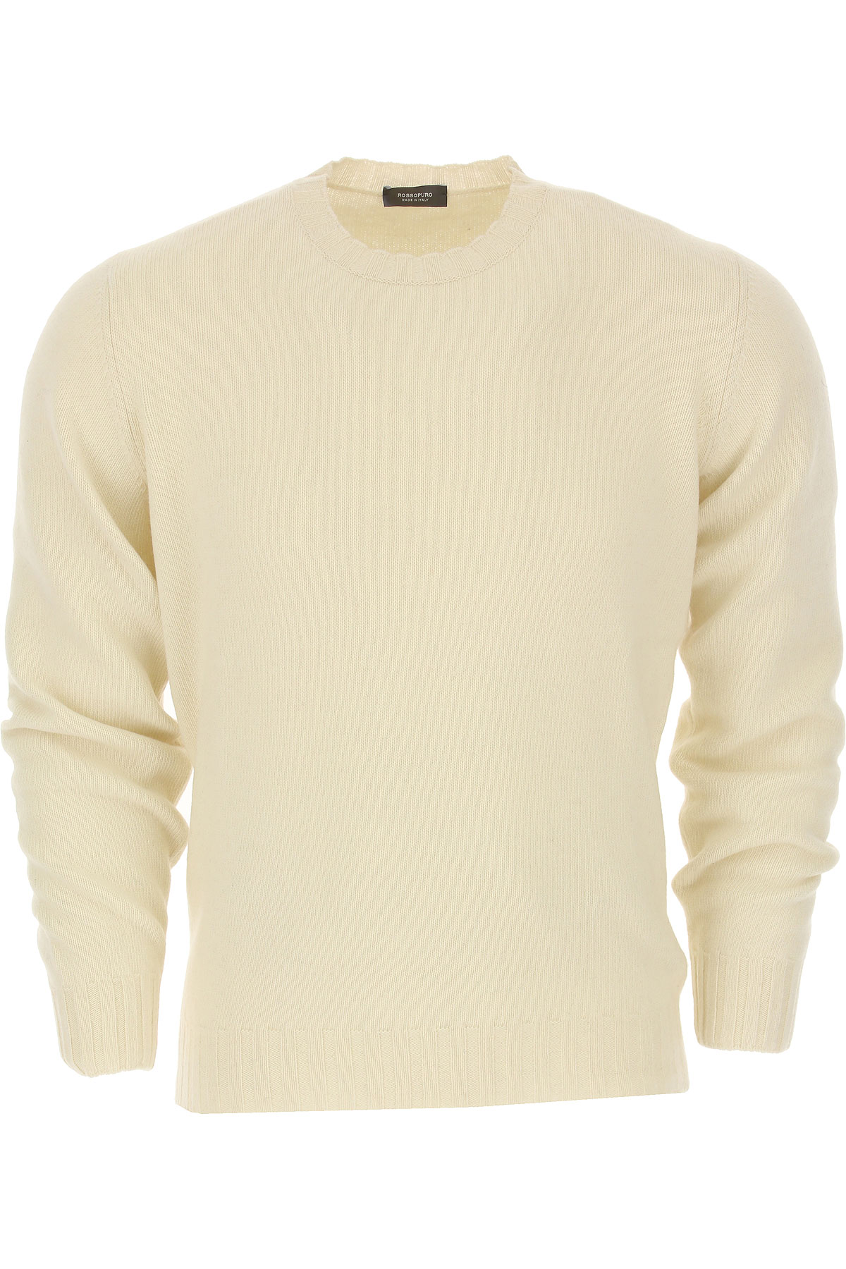 Image of Rossopuro Sweater for Men Jumper, Cream, Wool, 2017, L M S XL XXL