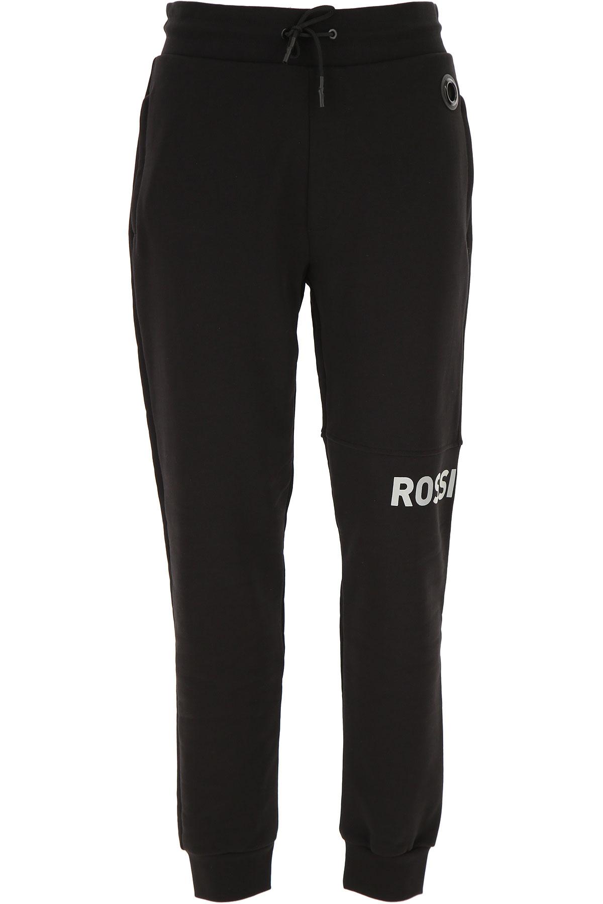 Rossignol Sweatpants On Sale, Black, Cotton, 2019, L M S