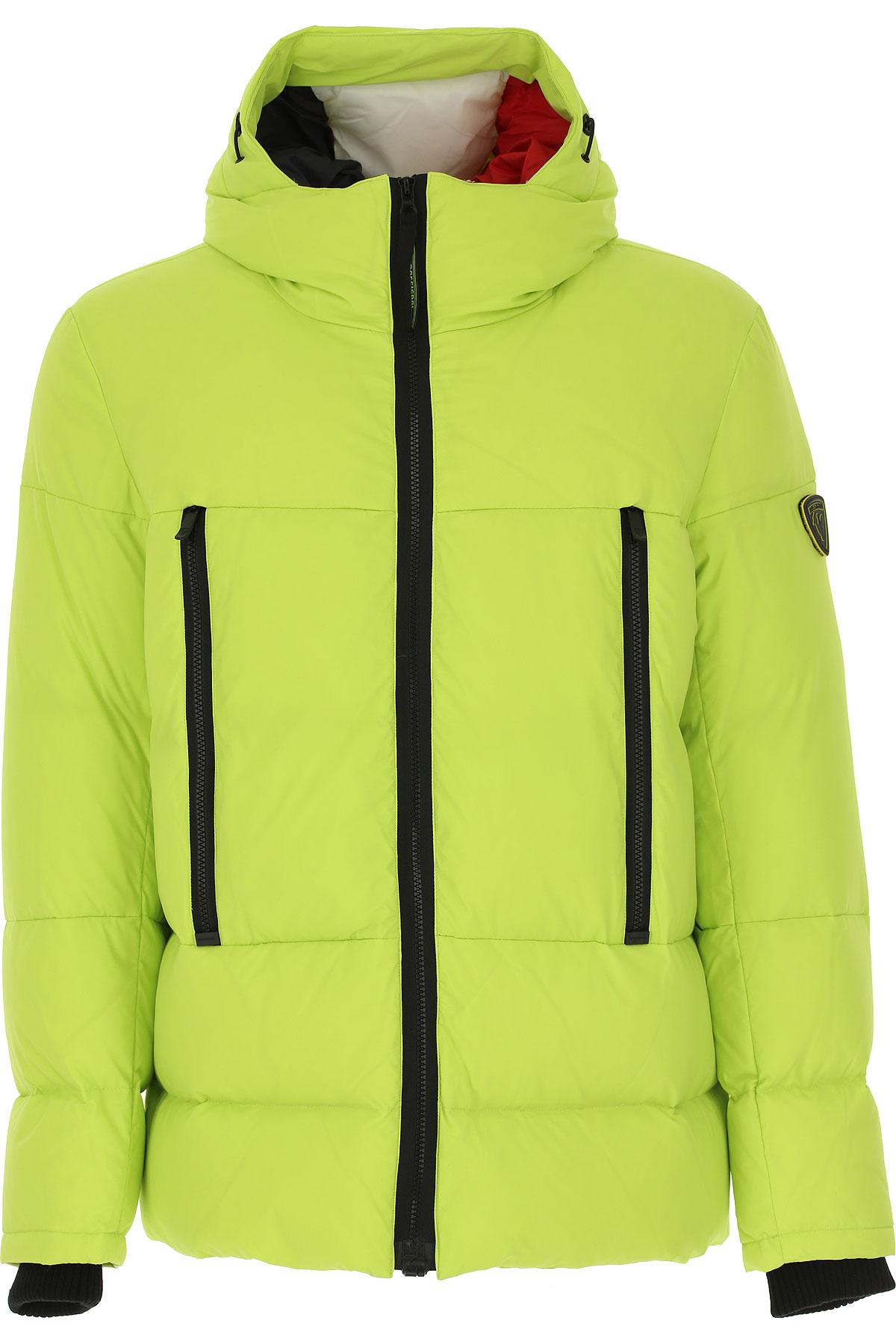 Rossignol Down Jacket for Men, Puffer Ski Jacket, Lime, polyamide, 2019, L M XL