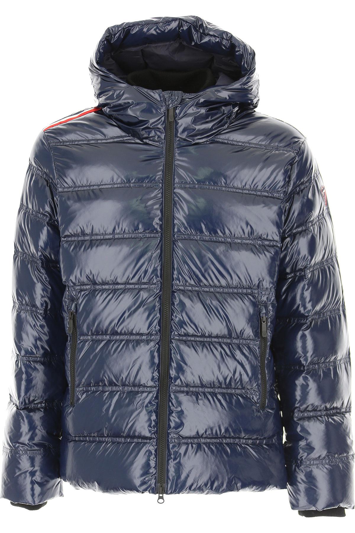 Rossignol Down Jacket for Men, Puffer Ski Jacket On Sale, Dark Navy Blue, Down, 2019, L M XL