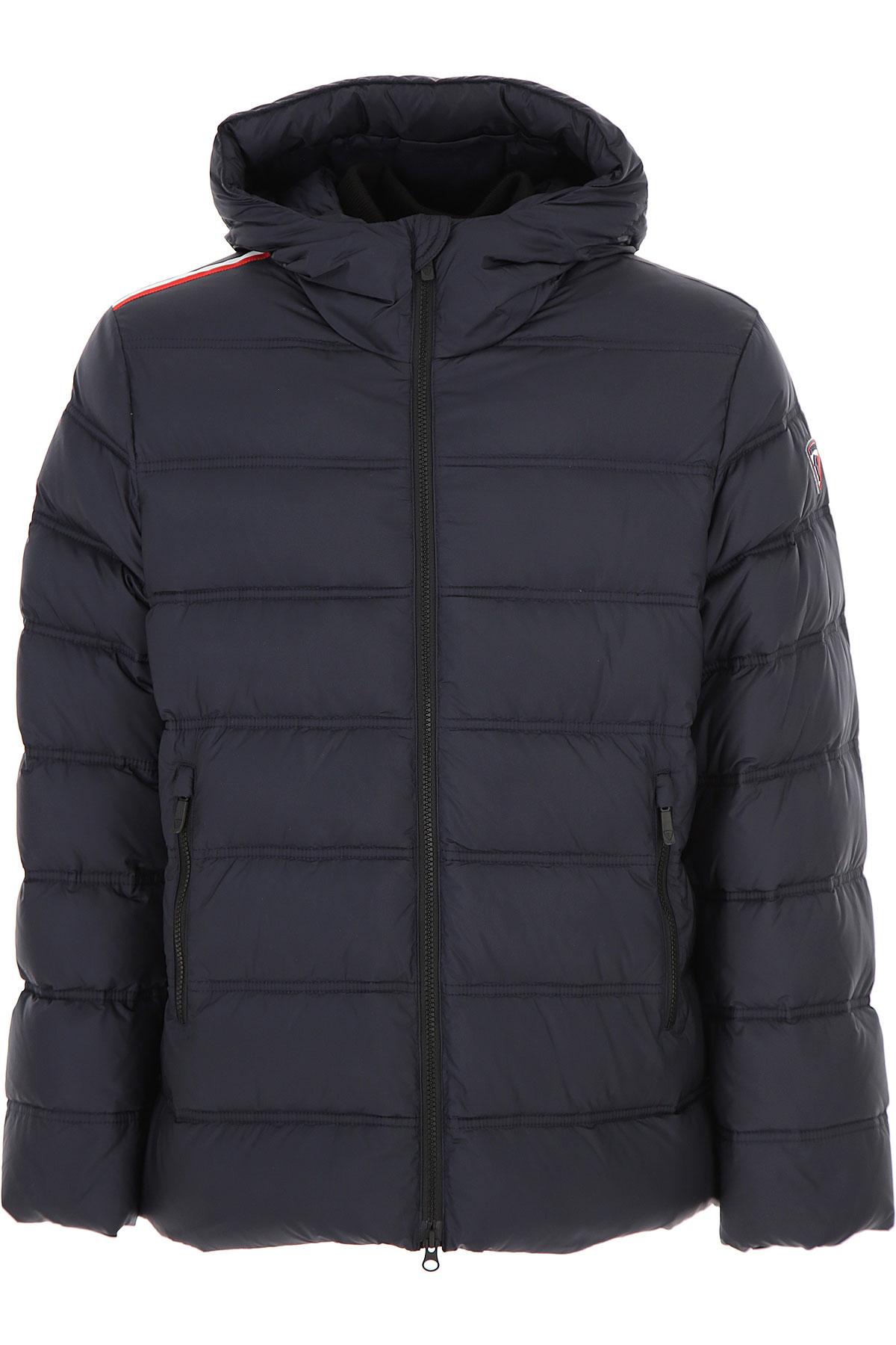 Rossignol Down Jacket for Men, Puffer Ski Jacket On Sale, Eclipse Blue, polyester, 2019, M S XL
