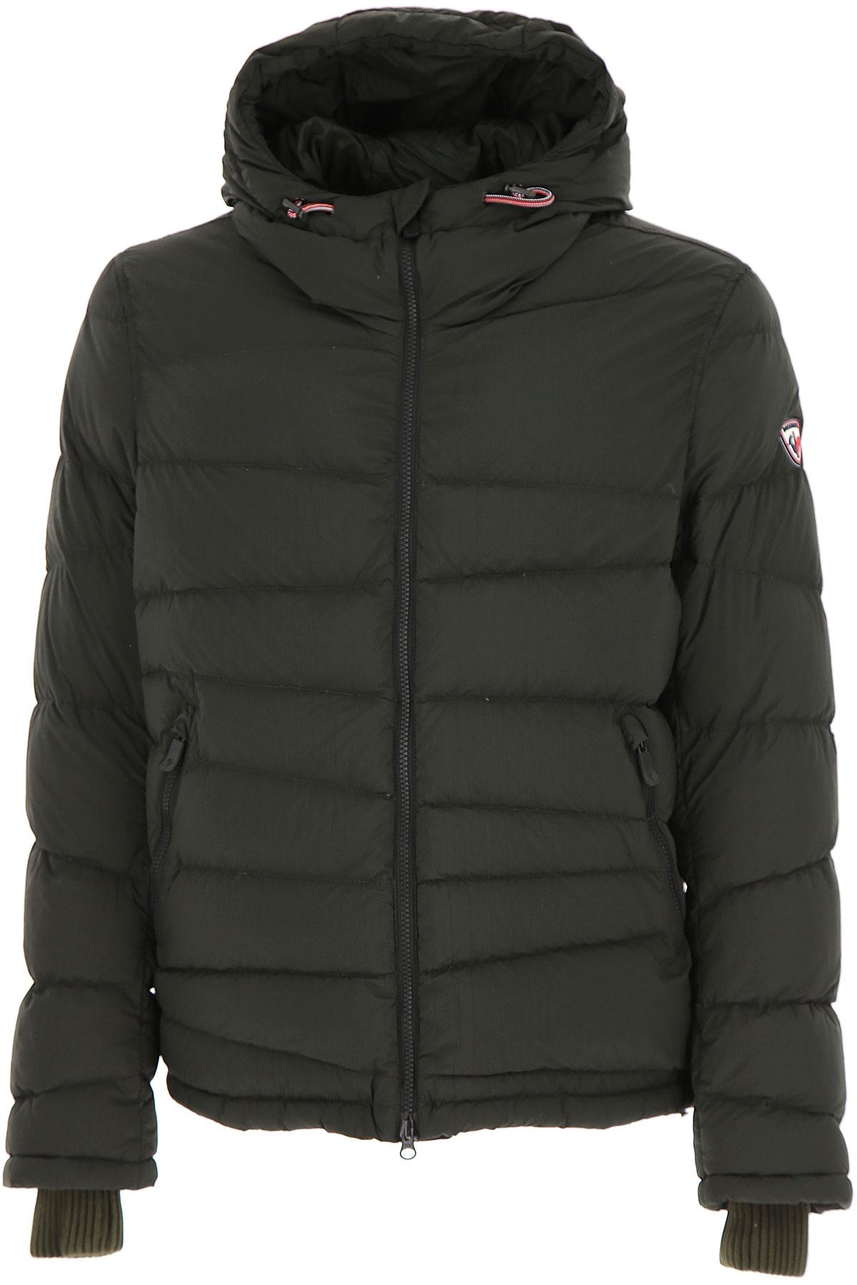 Image of Rossignol Down Jacket for Men, Puffer Ski Jacket, Dark Military Green, polyamide, 2017, L M S XL XXL