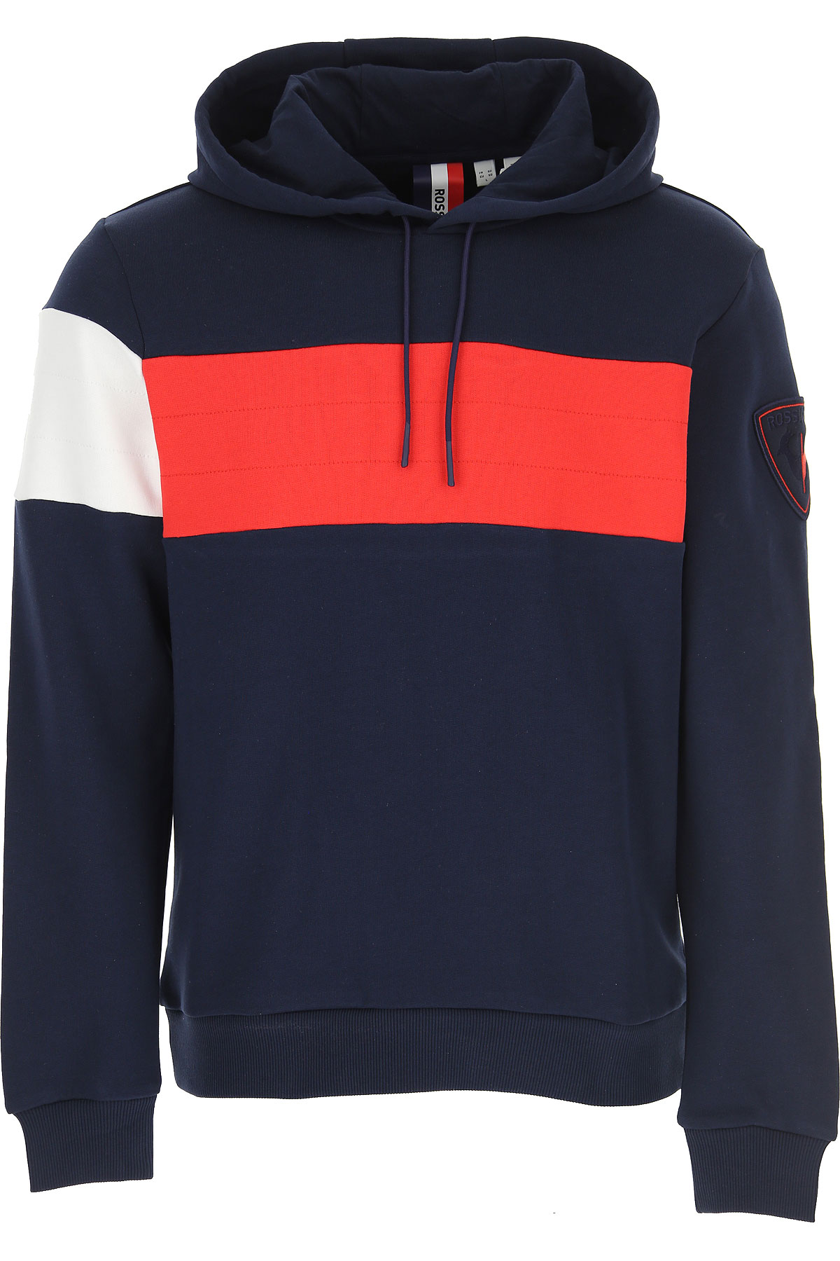 Rossignol Sweatshirt for Men On Sale, Navy Blue, Cotton, 2019, L M S XL