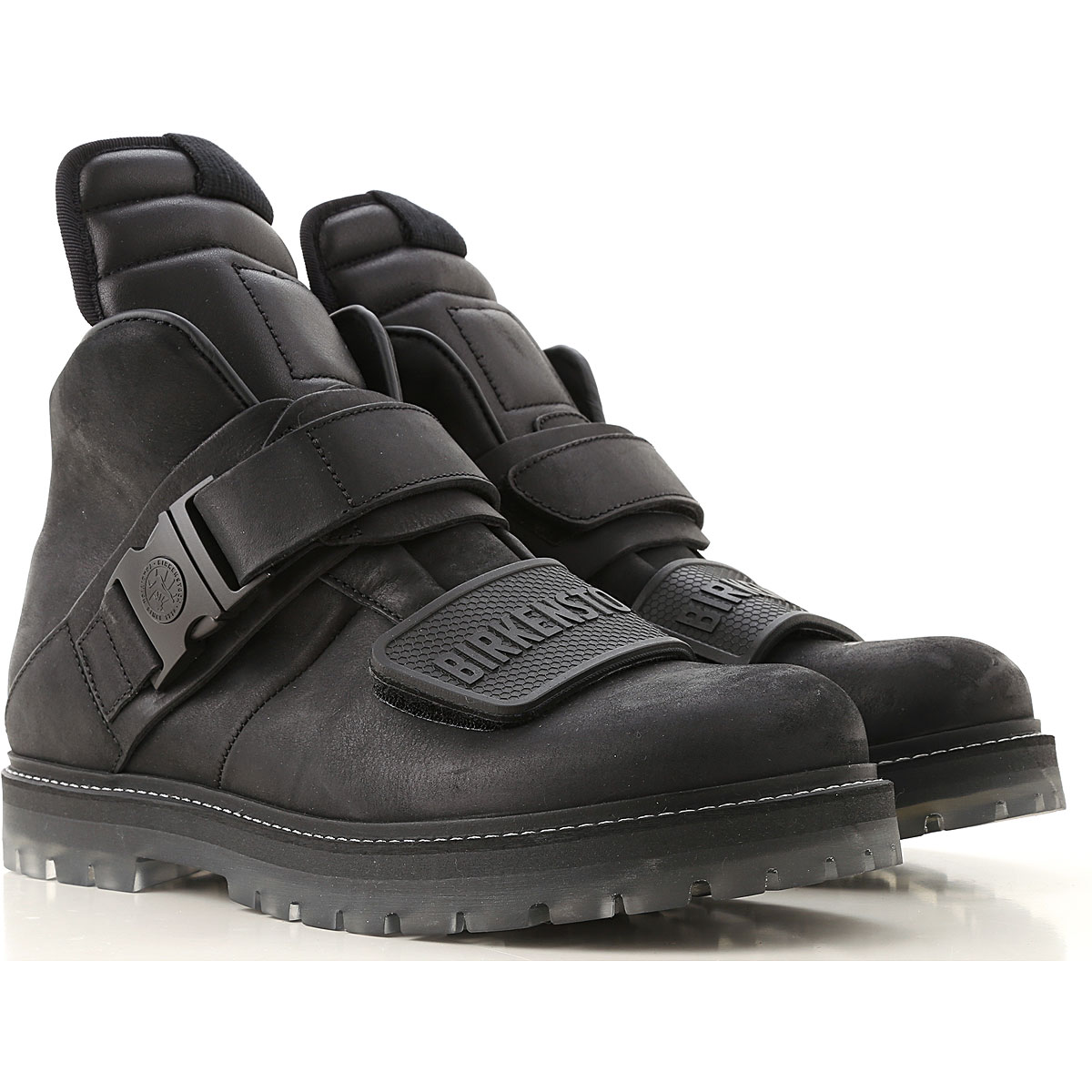 Rick Owens Boots for Men, Booties On Sale in Outlet, Black, Leather, 2019, 7.5 8 9