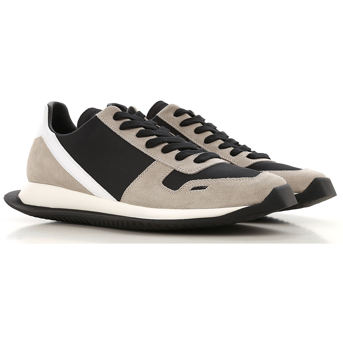 Rick Owens Sneakers for Men On Sale in Outlet, Black, suede, 2019, 6.5 7.5 7.75 8