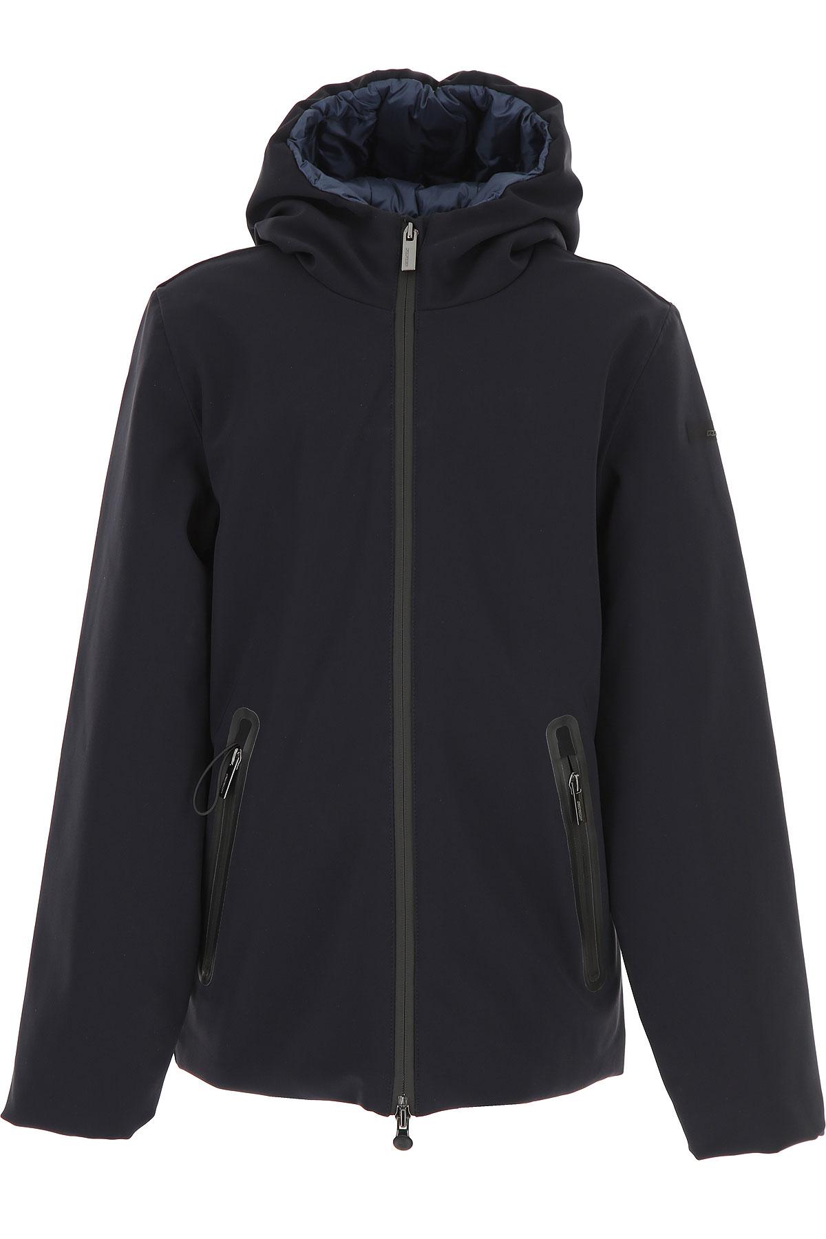 Image of RRD Boys Down Jacket for Kids, Puffer Ski Jacket, Blue, polyamide, 2017, 14Y 16Y