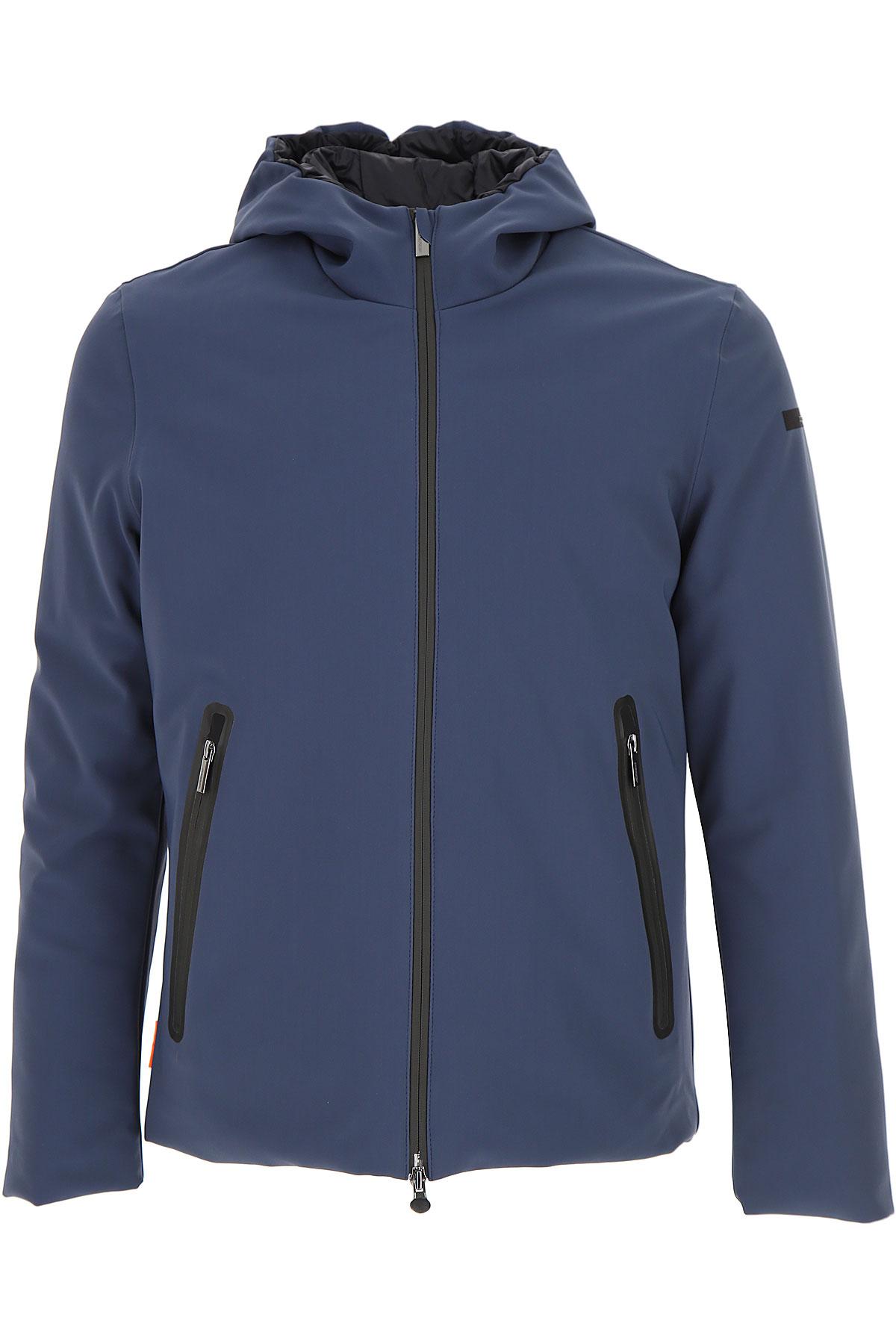 Image of RRD Down Jacket for Men, Puffer Ski Jacket, Avio Blue, polyester, 2017, L M XL