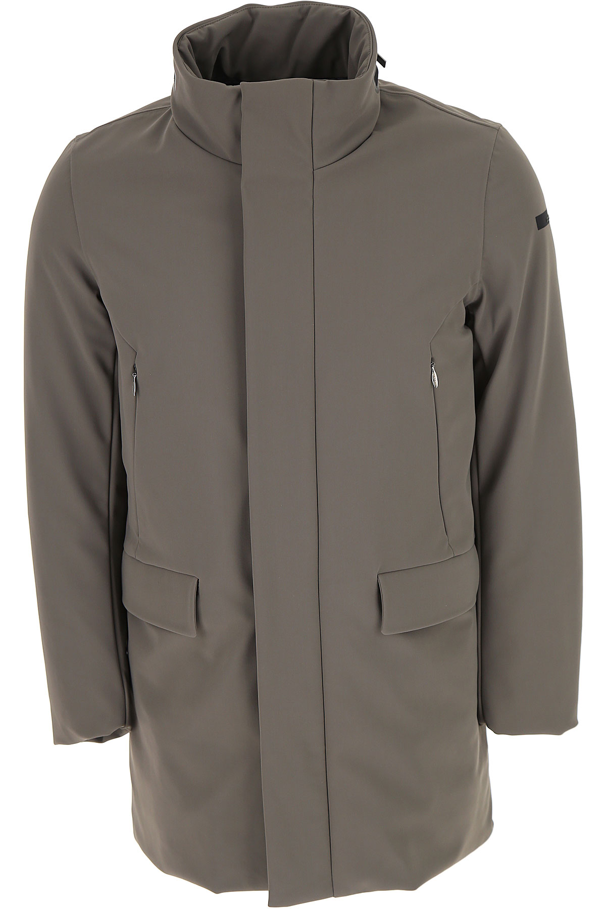 Image of RRD Down Jacket for Men, Puffer Ski Jacket, Grey, polyester, 2017, L M S XL XXL