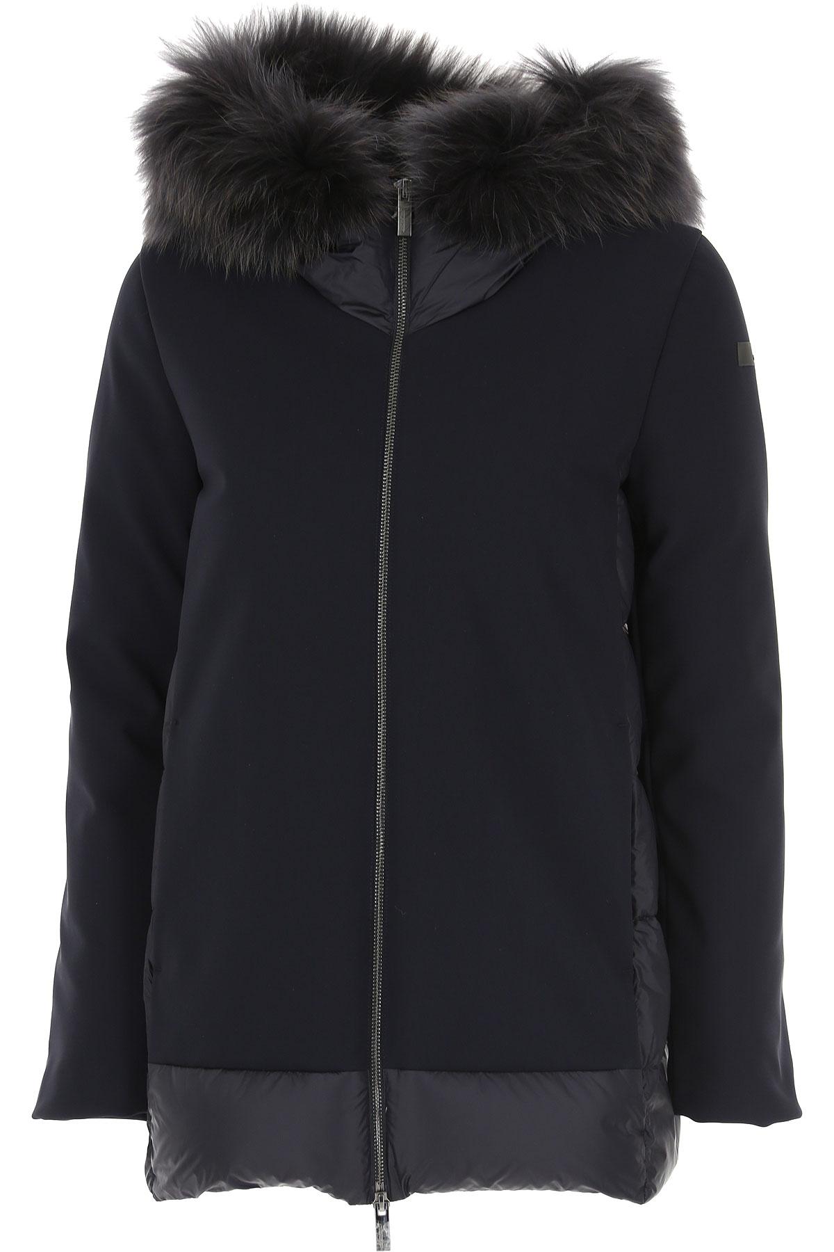 RRD Jacket for Women On Sale, Navy Blue, polyamide, 2019, 4 6 8
