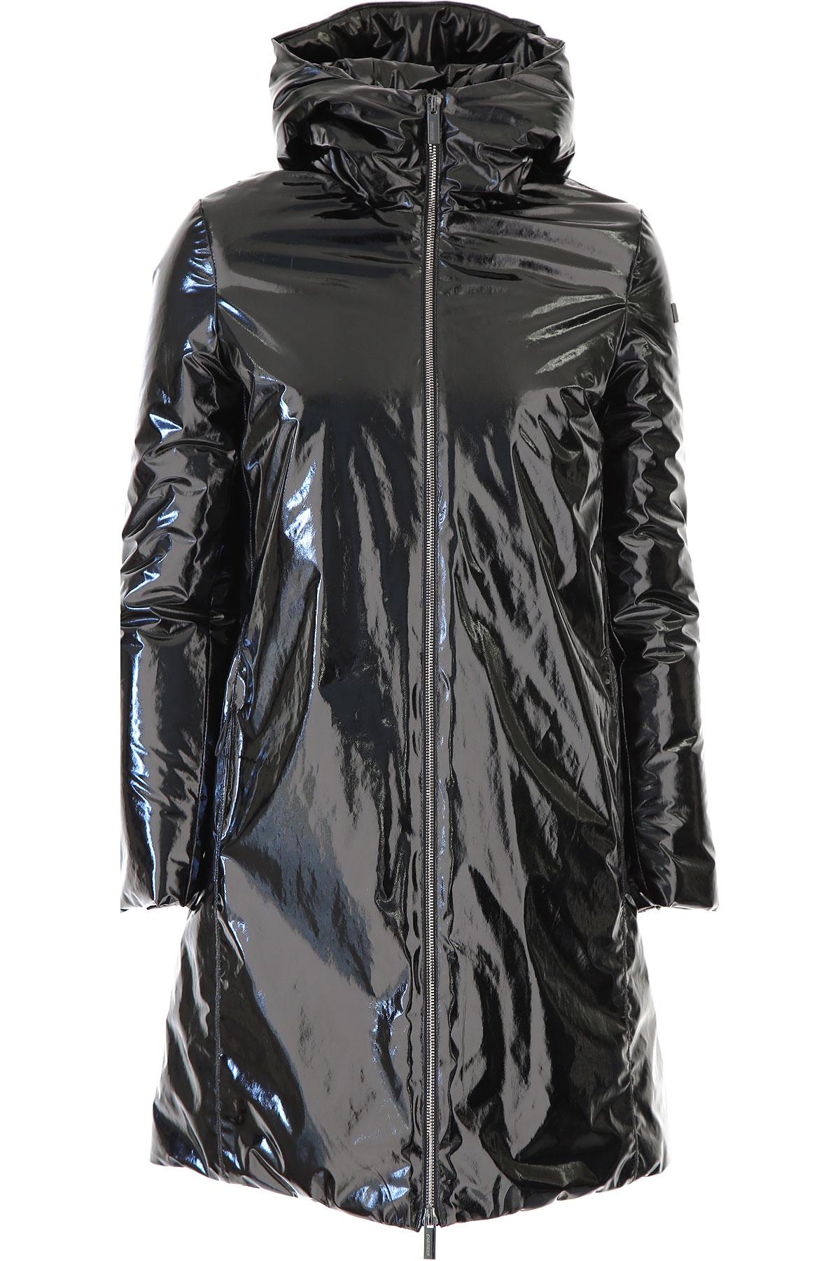 RRD Down Jacket for Women, Puffer Ski Jacket On Sale, Black, polyestere, 2019, 10 4 6 8