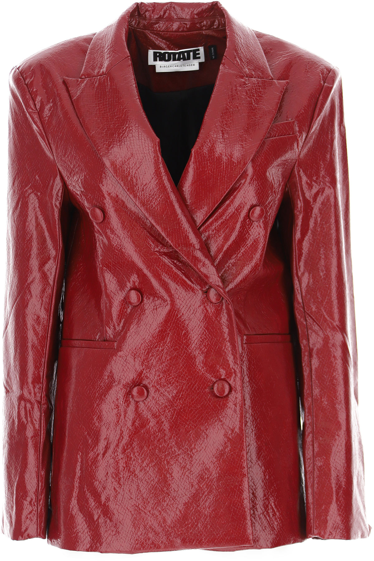 Rotate Jacket For Women, Red, Polyurethane, 2021, 6