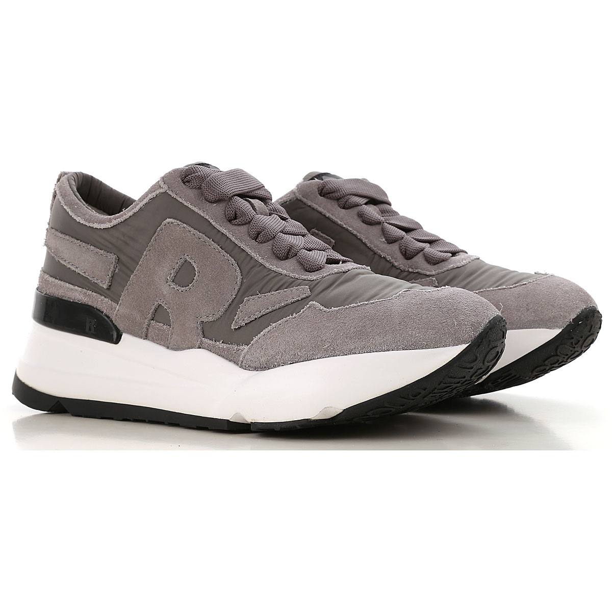 Image of Ruco Line Sneakers for Women, Grey, Nylon, 2017, 6 7 8 9