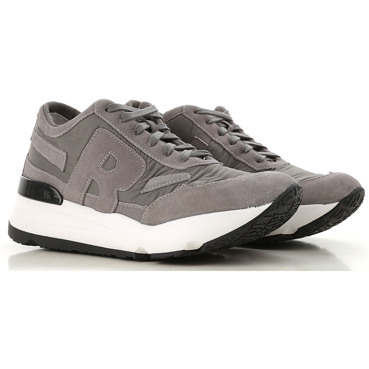 Image of Ruco Line Sneakers for Women, Grey, Nylon, 2017, 10 11 6 7 8