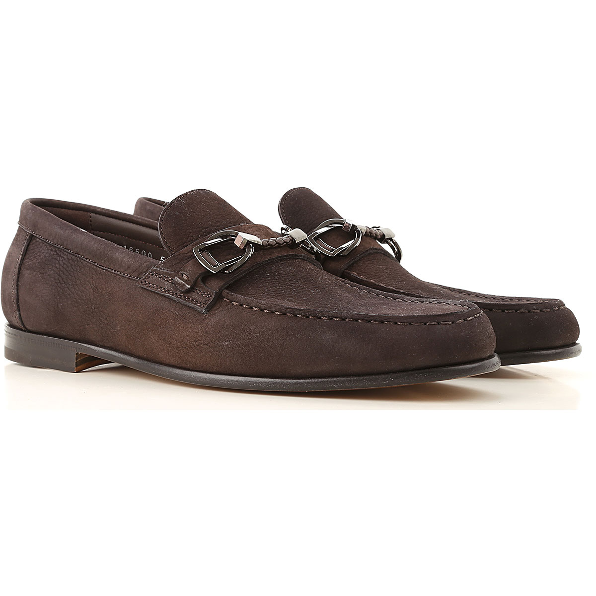 Santoni Loafers for Men, Dark Brown, Leather, 2019, 10 10.5 11 11.5 7 8 8.5 9 9.5