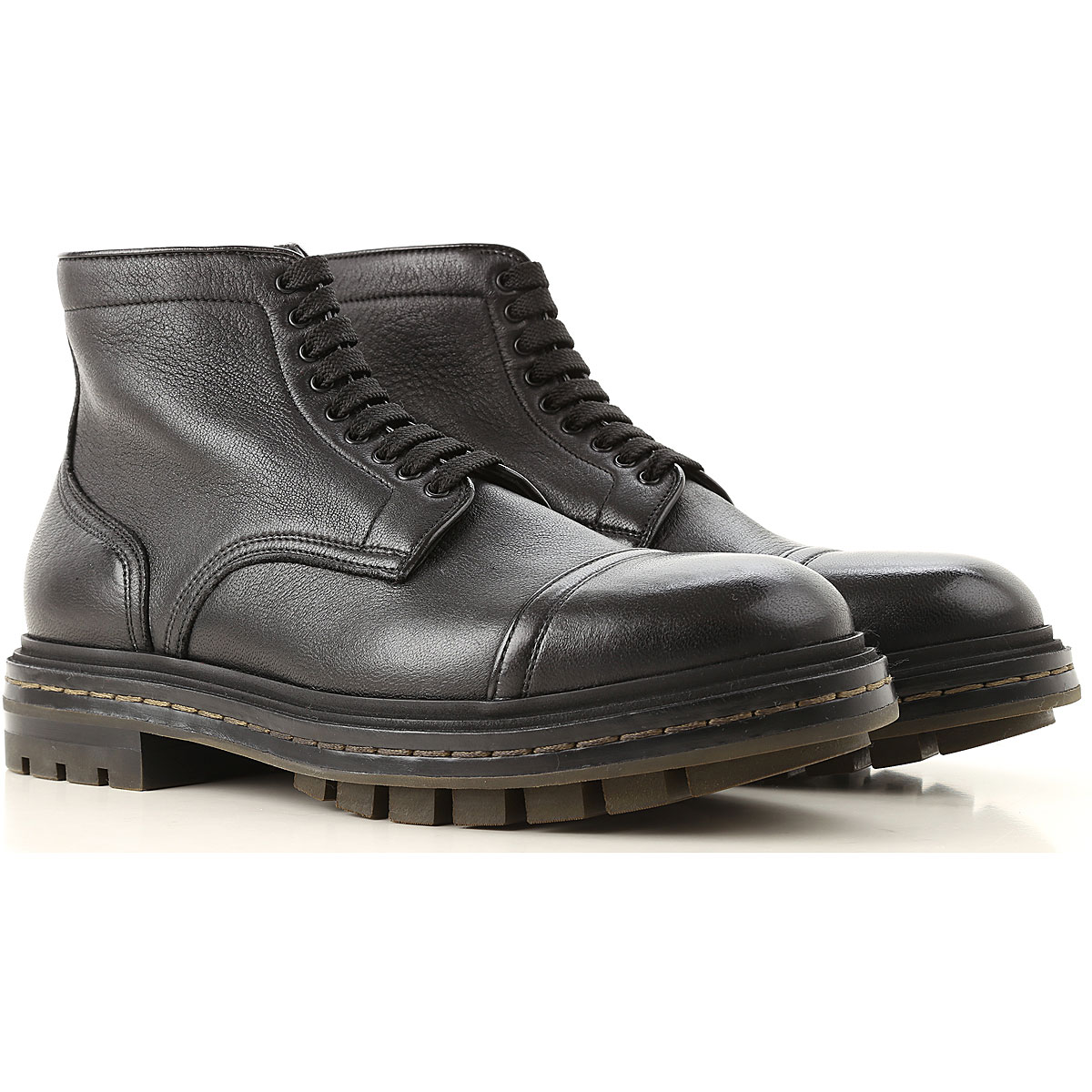 Image of Santoni Boots for Men, Booties, Black, Leather, 2017, 10 10.5 11 11.5 6 7 7.5 8 8.5 9 9.5