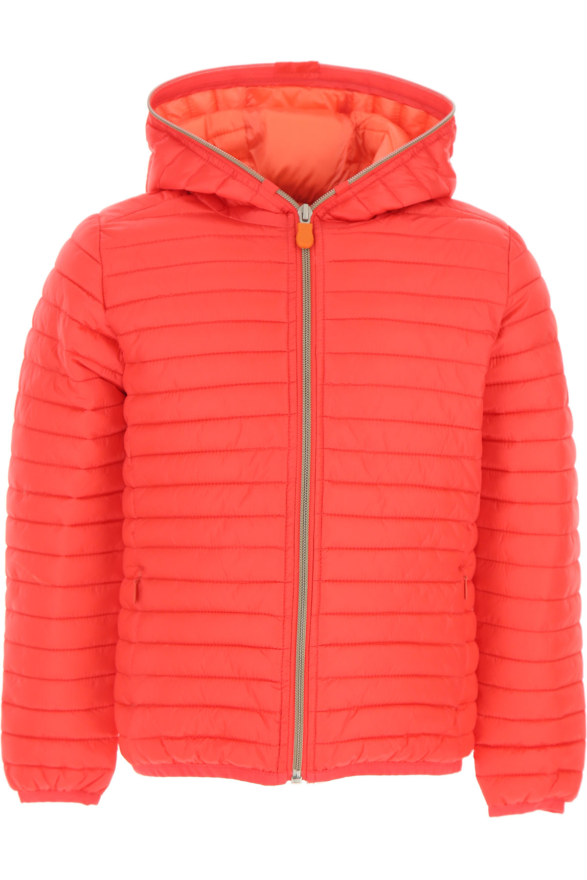 Save the Duck Girls Down Jacket for Kids, Puffer Ski Jacket On Sale, Red, polyamide, 2019, 14Y 6Y