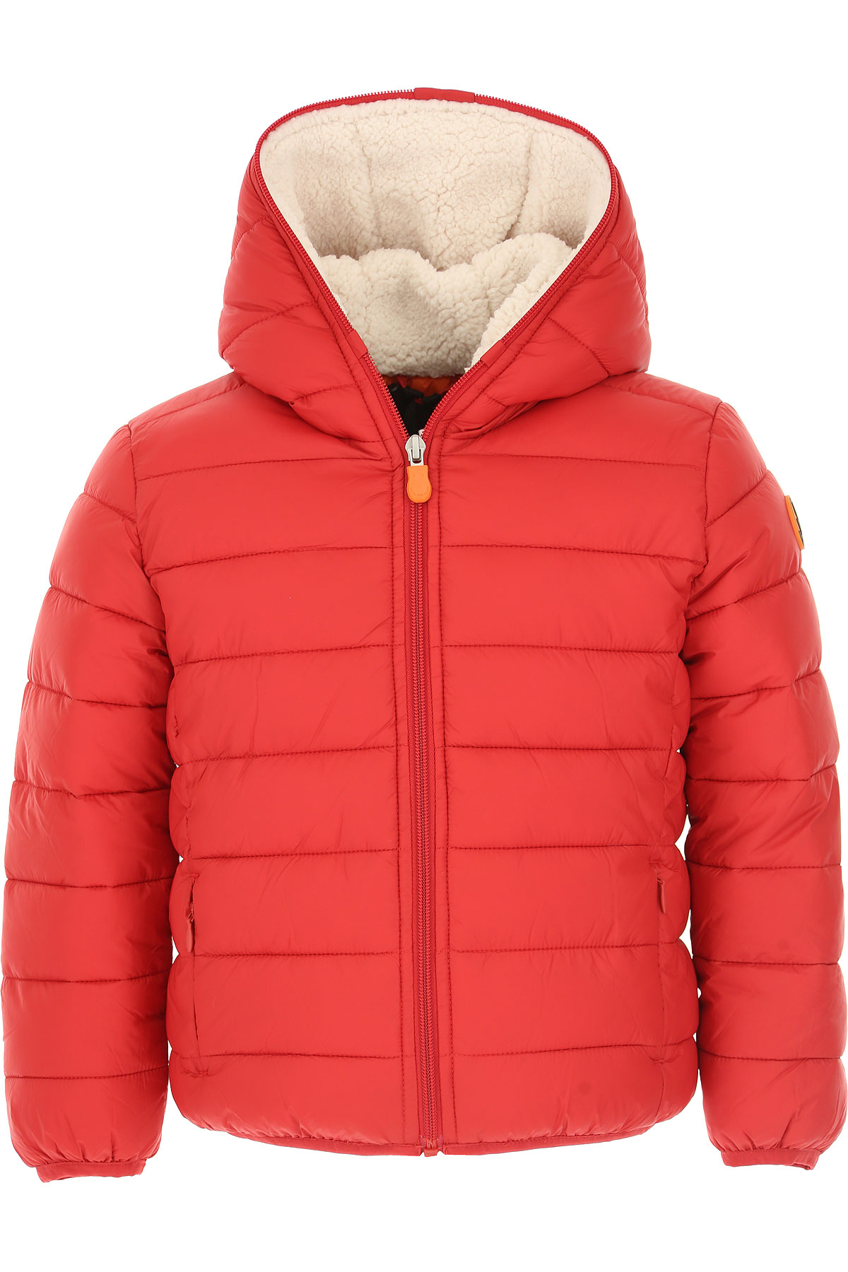 Save the Duck Boys Down Jacket for Kids, Puffer Ski Jacket On Sale, Red, Nylon, 2019, 10Y 6Y