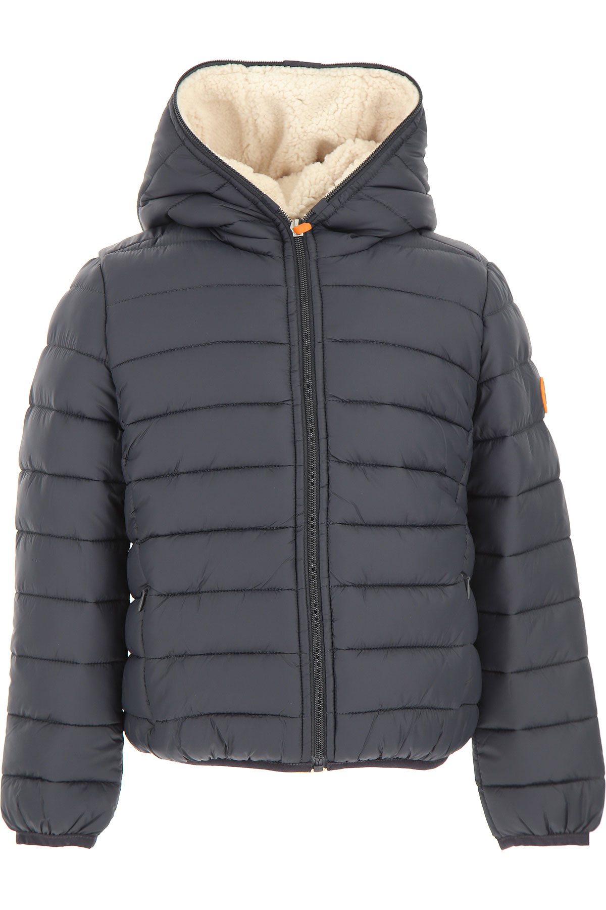 Save the Duck Boys Down Jacket for Kids, Puffer Ski Jacket On Sale, Shadow Black, Nylon, 2019, 2Y 4Y 6Y 8Y