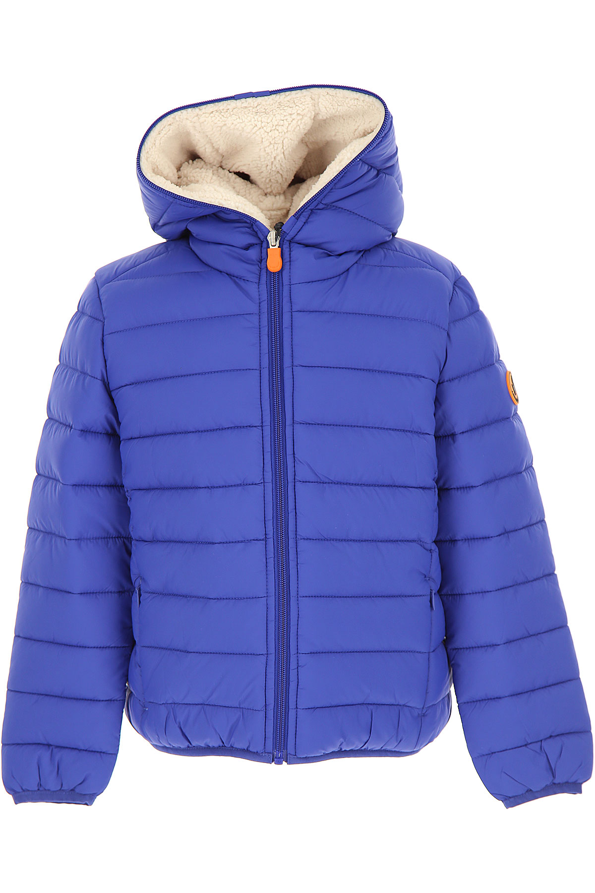 Save the Duck Boys Down Jacket for Kids, Puffer Ski Jacket On Sale, Twilight Blue, Nylon, 2019, 10Y 8Y