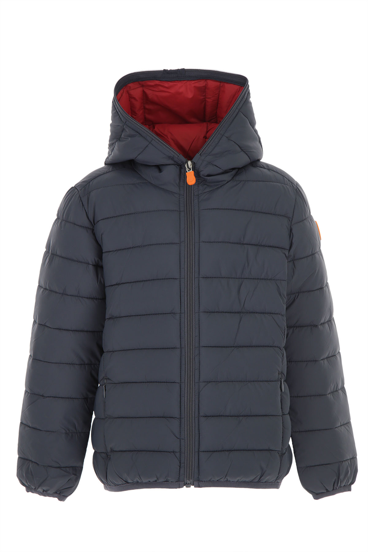 Save the Duck Boys Down Jacket for Kids, Puffer Ski Jacket On Sale, Blue Grey, Nylon, 2019, 12Y 2Y