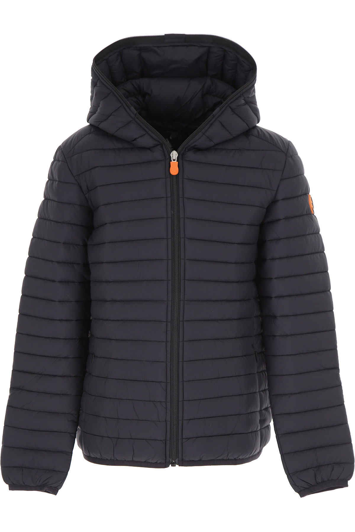 Save the Duck Boys Down Jacket for Kids, Puffer Ski Jacket On Sale, Black, Nylon, 2019, 10Y 12Y 14Y 16Y